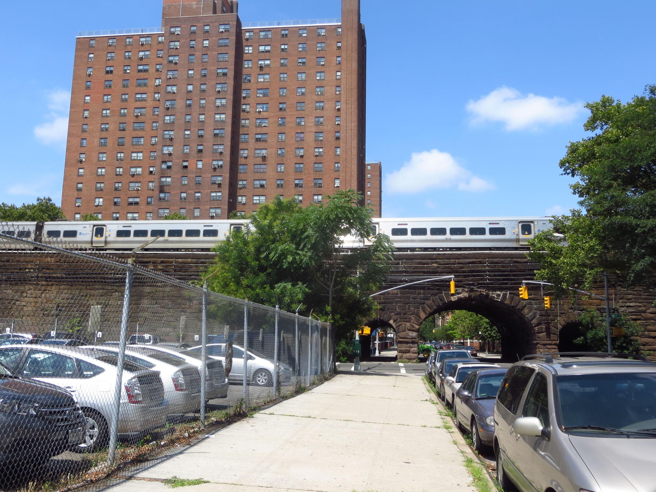 Metro North viaduct
