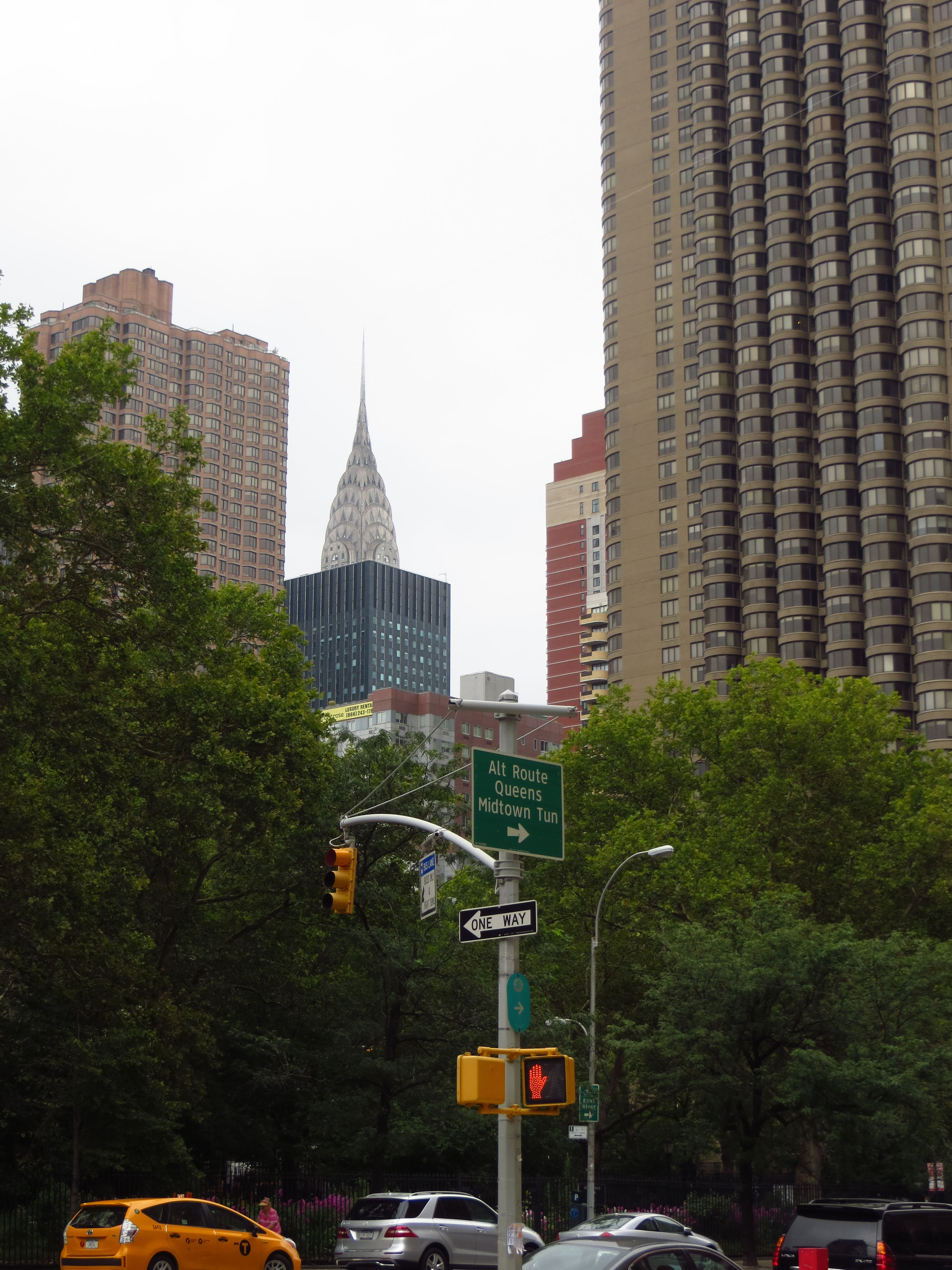 Apartments and Chrysler Building