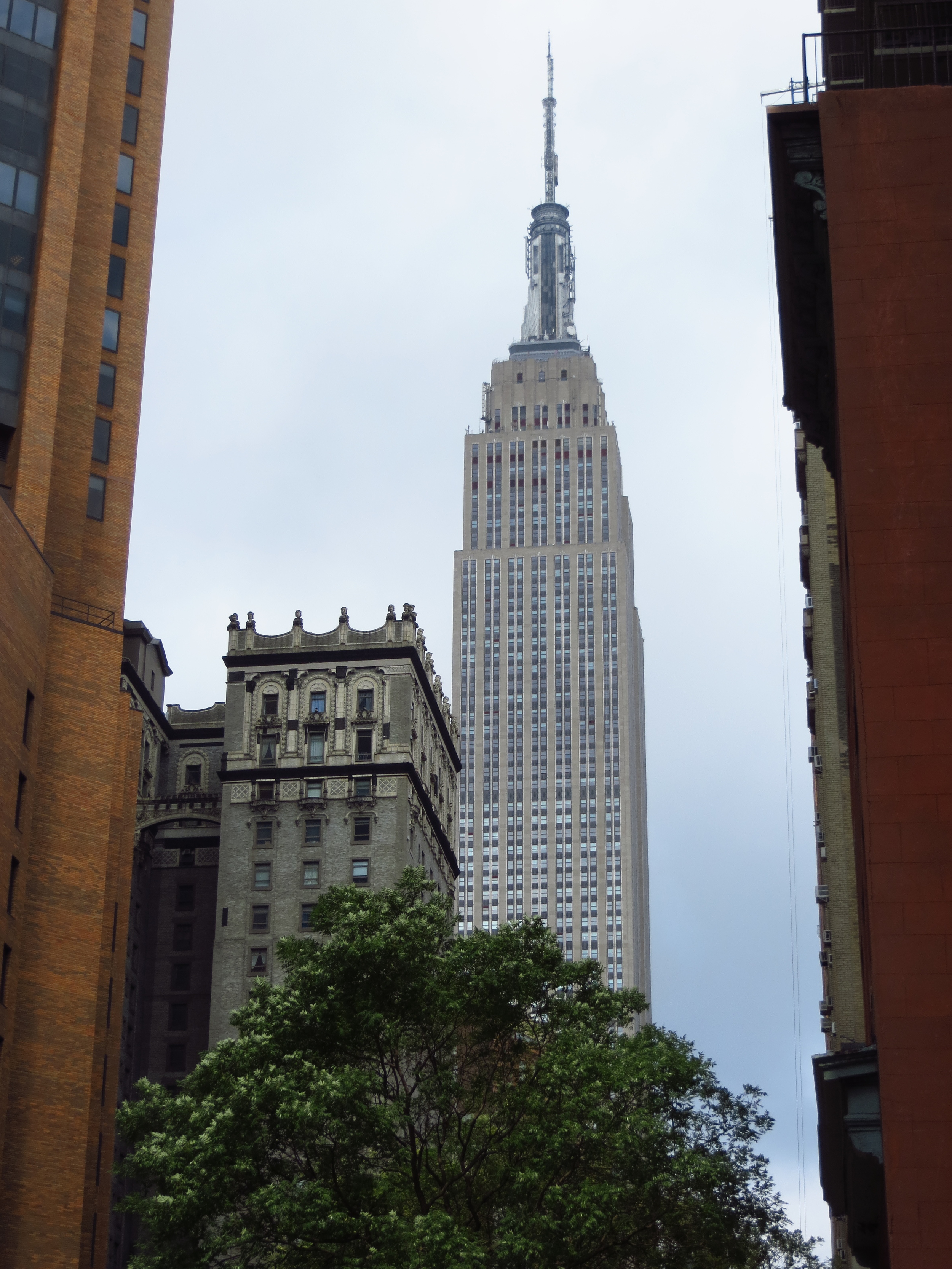 Empire State Building from 34th St. (#2)