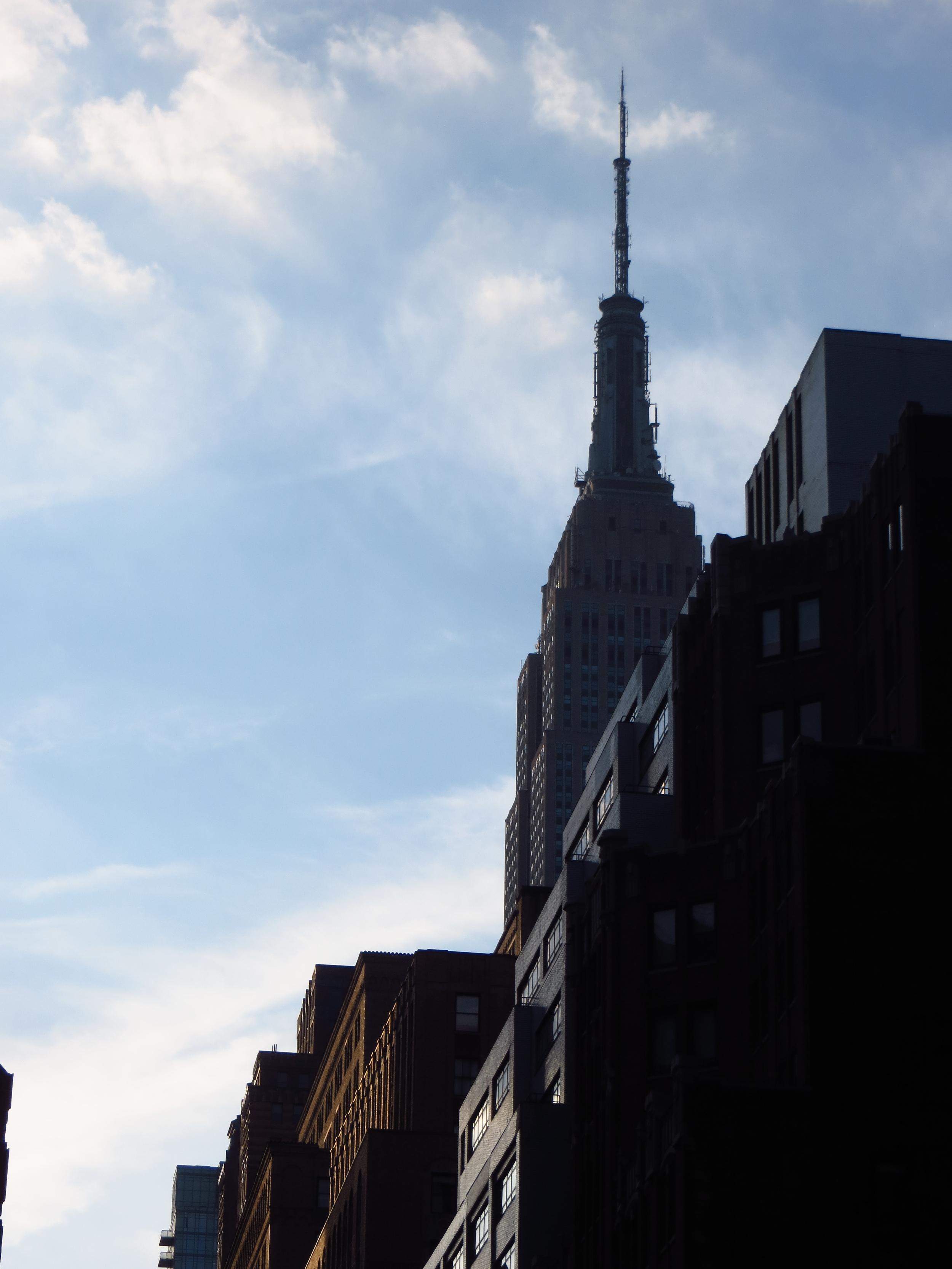Empire State Building in shadow (#6)
