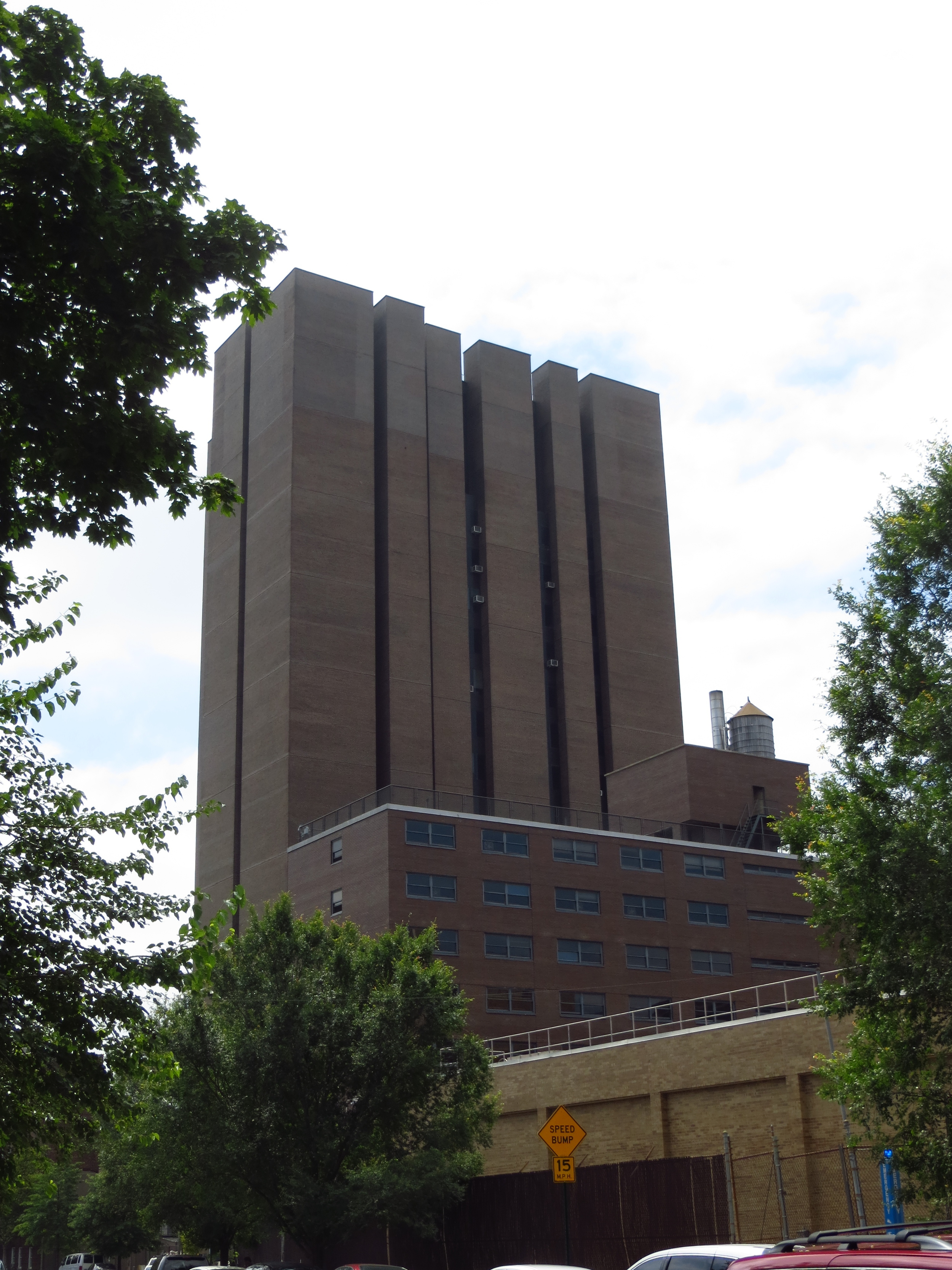 Belfer Hall at Yeshiva University (something tells me it doesn't house their School of Architecture)