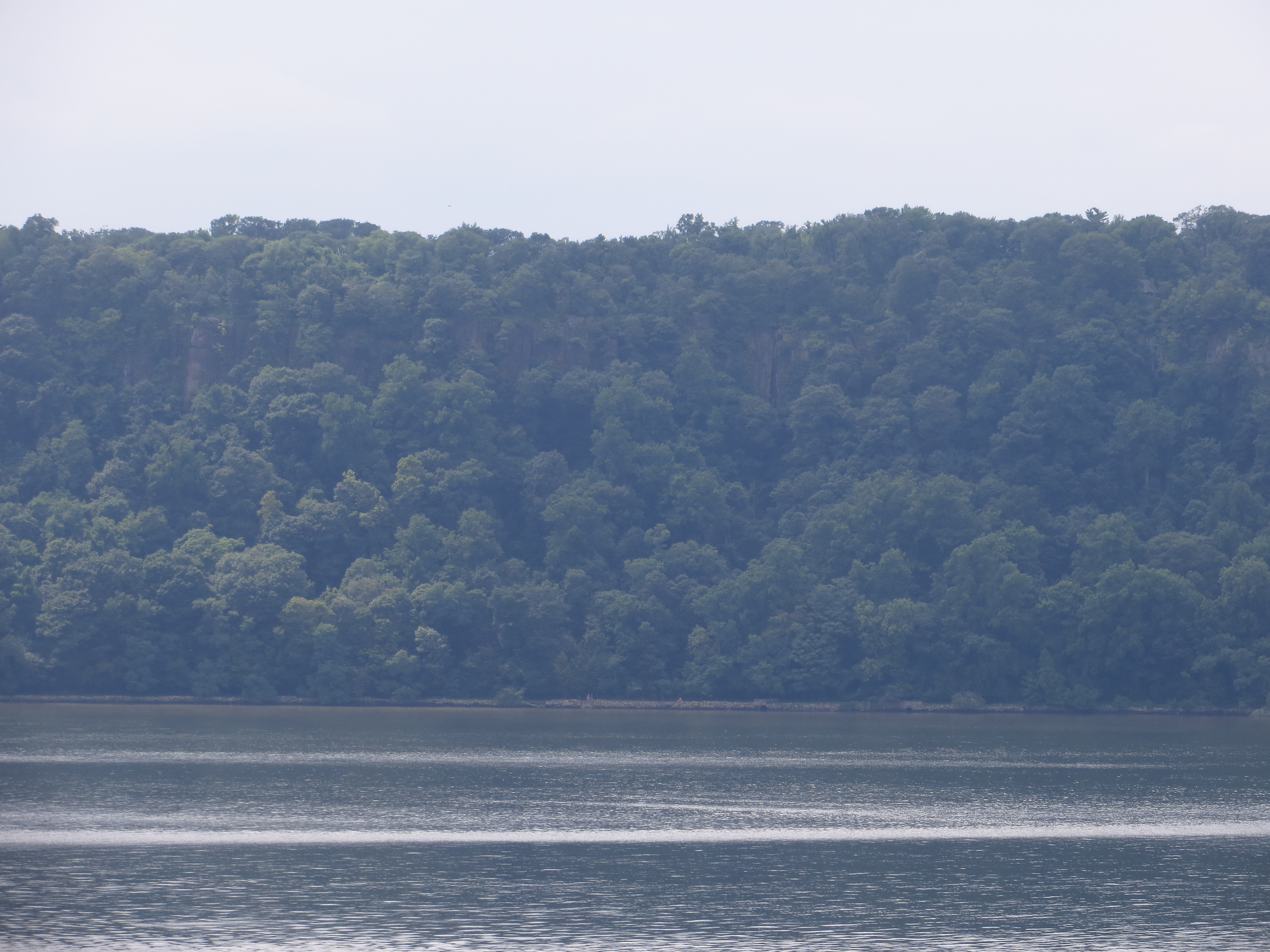 The Palisades across the Hudson