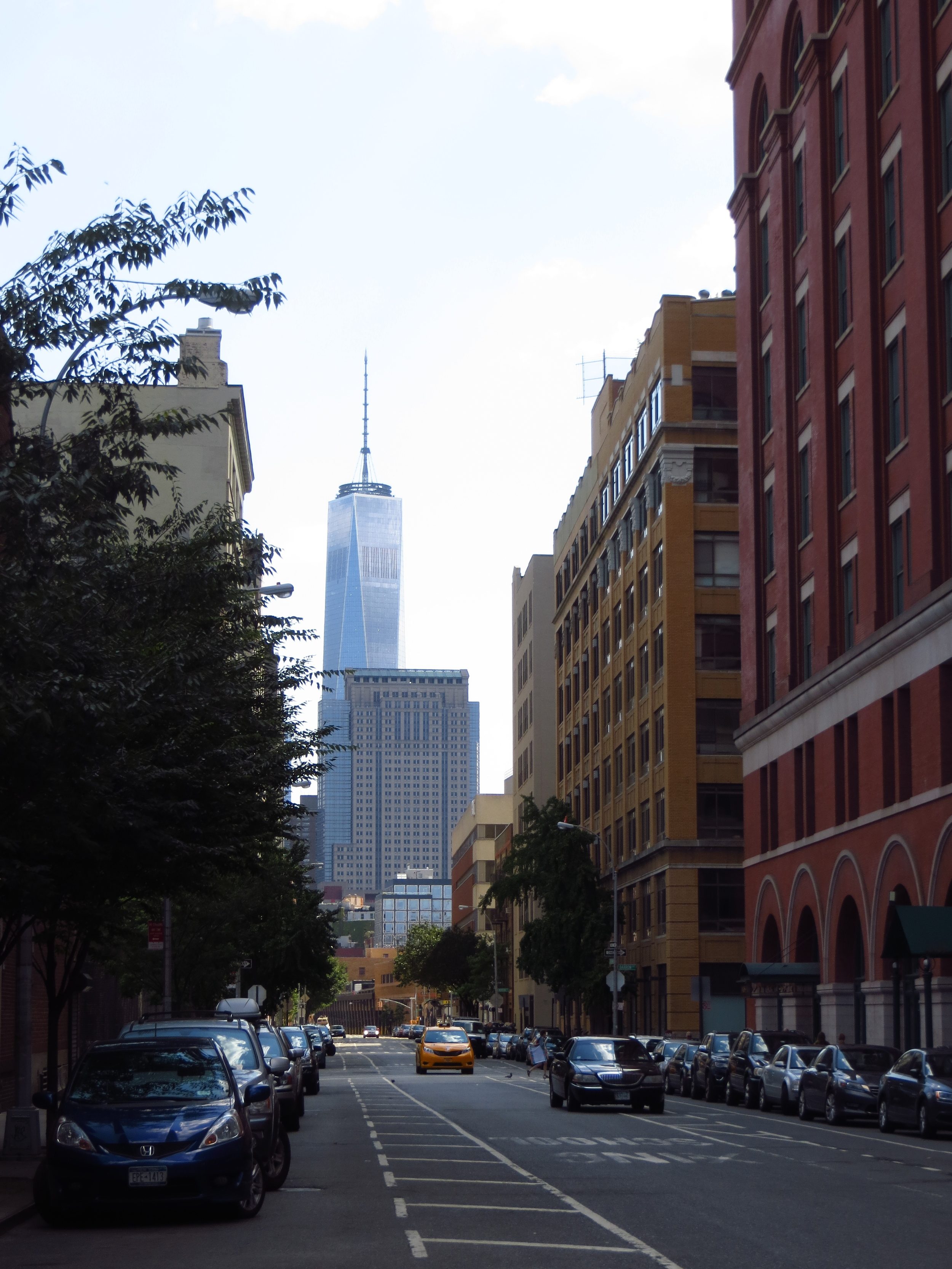 The first of what will likely be many Freedom Tower pictures