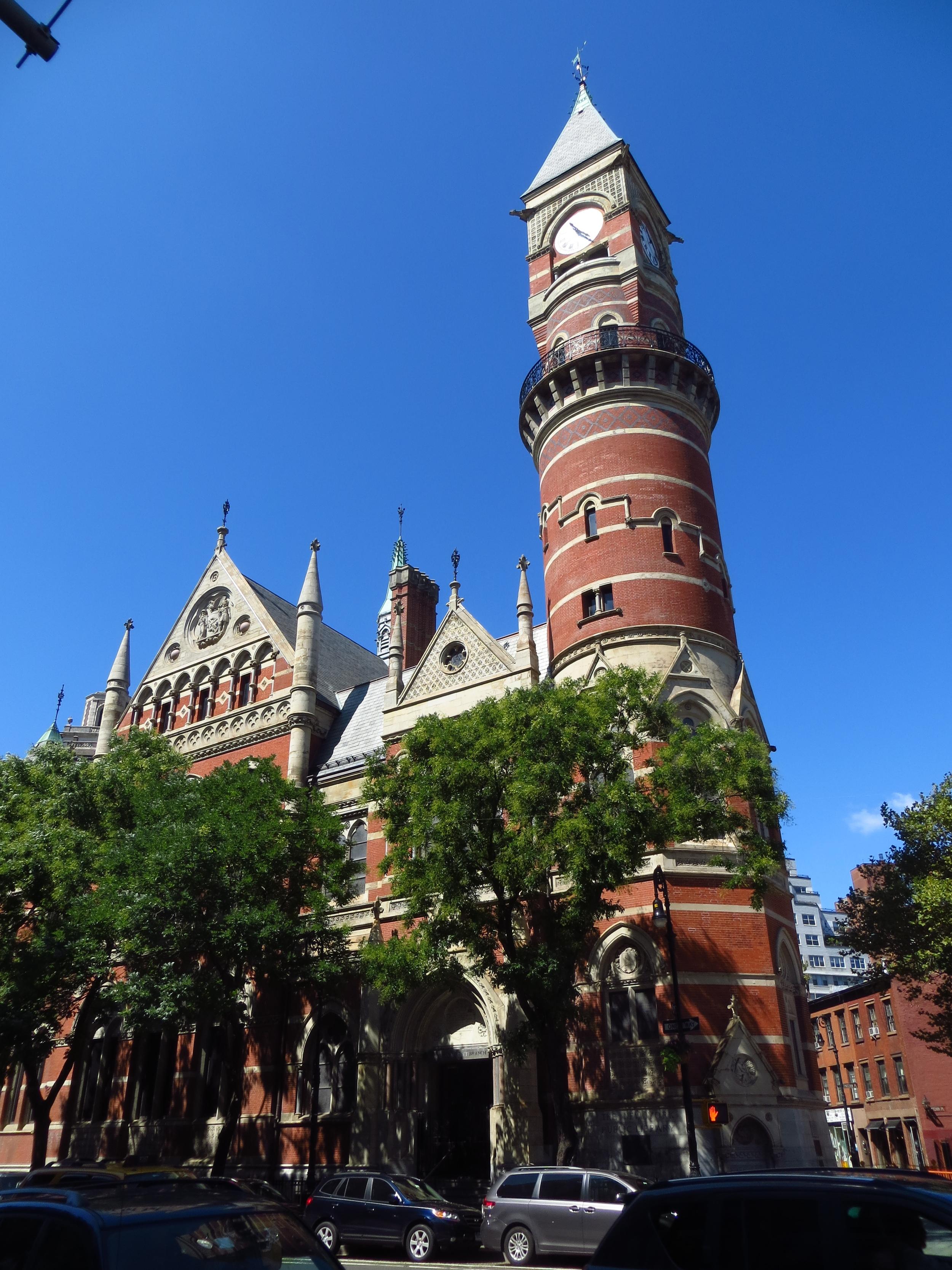 Jefferson Market Courthouse (b. 1876)