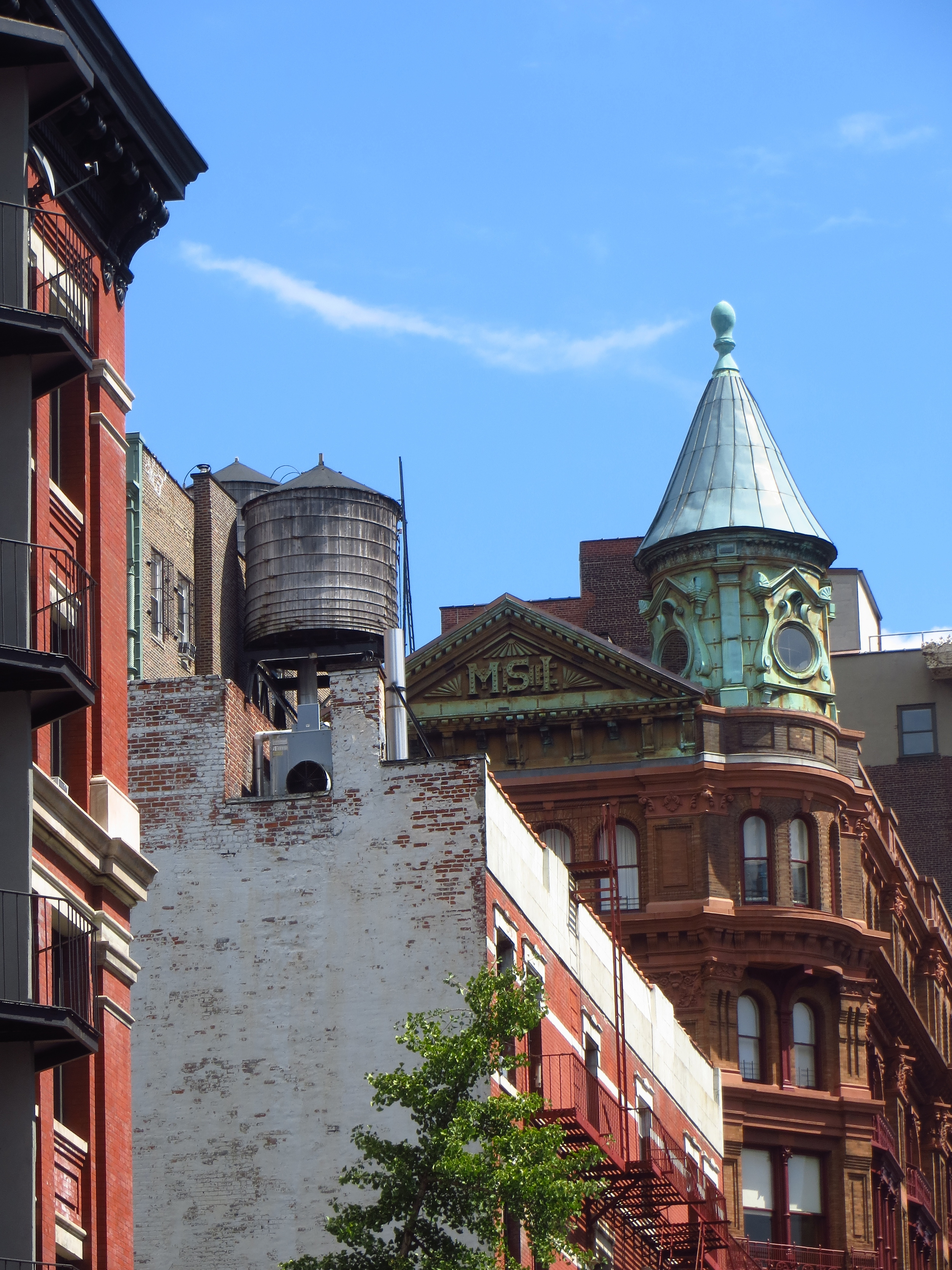 Cool buildings