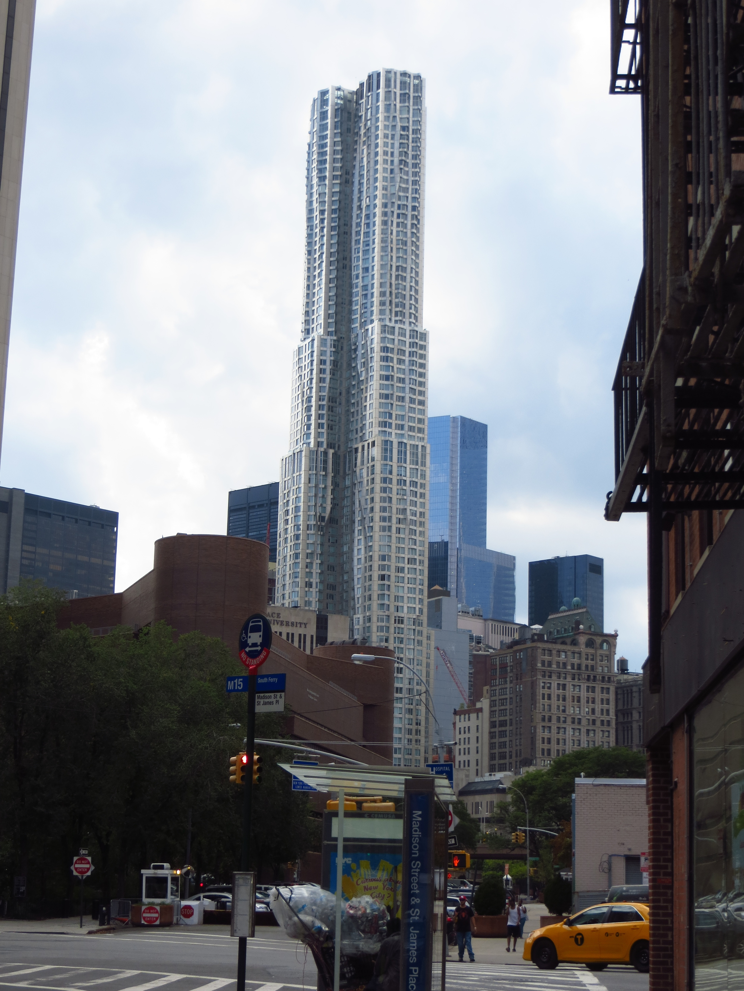 Beekman Tower (designed by Frank Gehry)