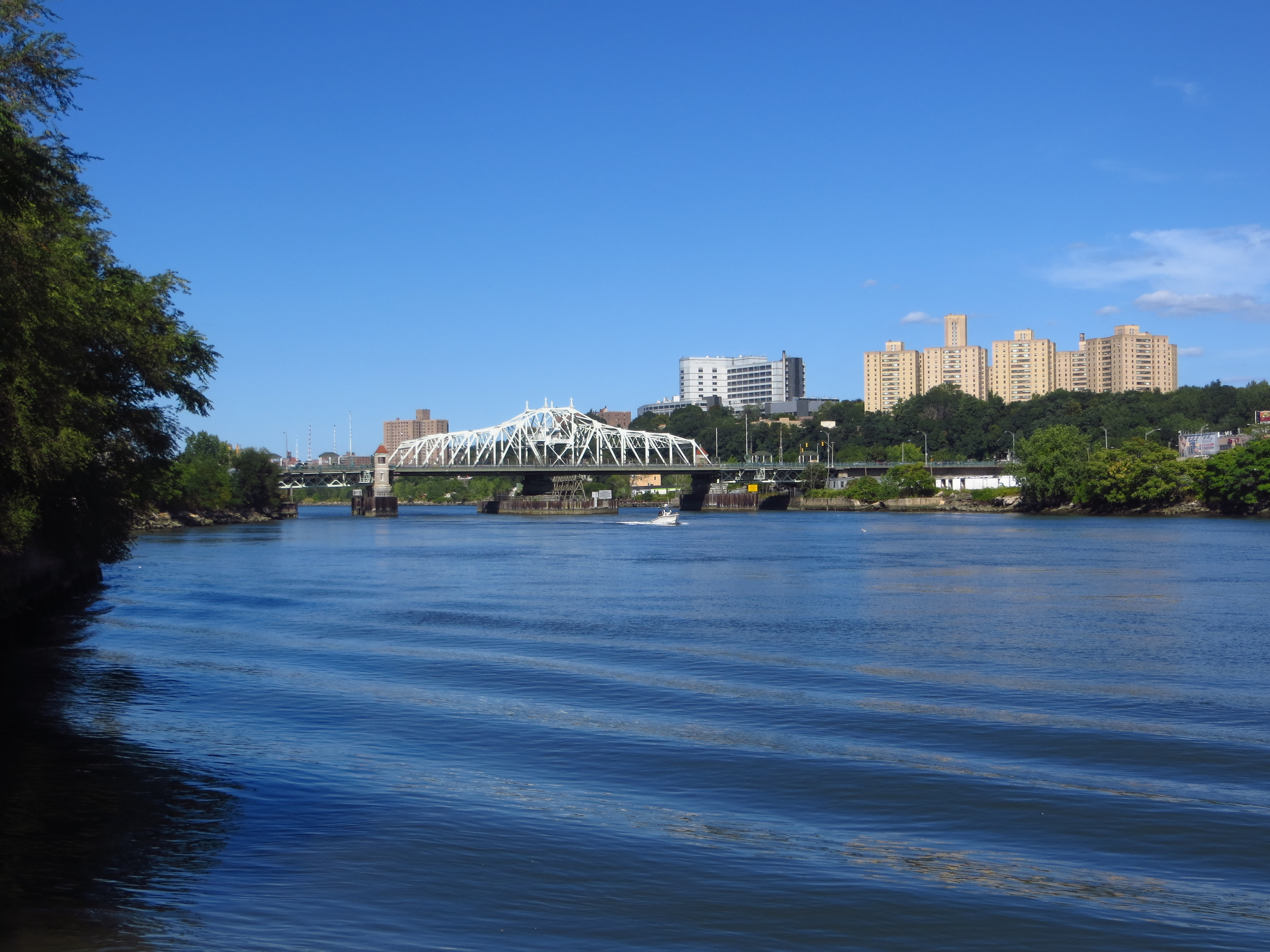 Harlem River and University Heights Bridge