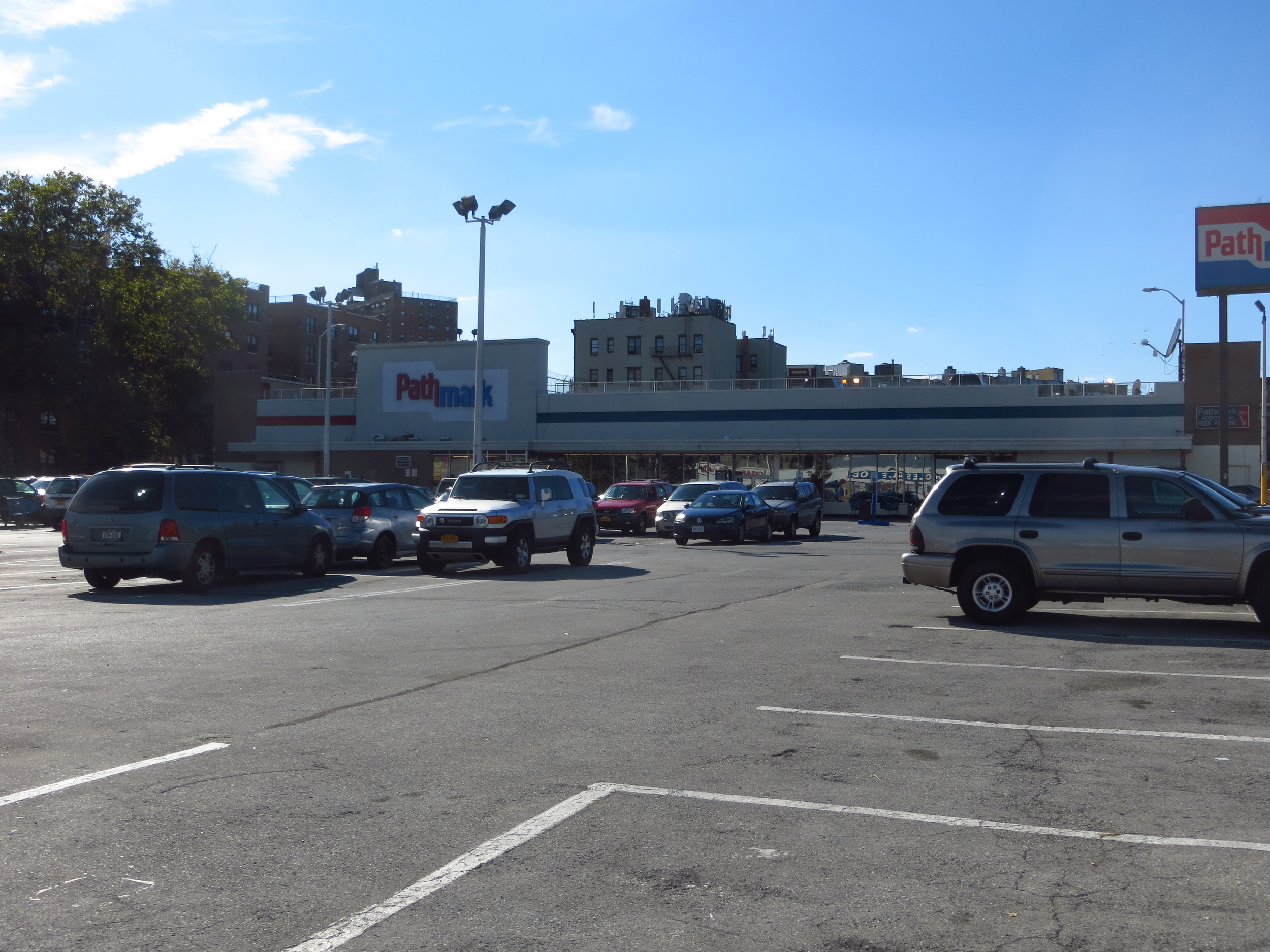 I think this is the largest commercial parking lot in Manhattan