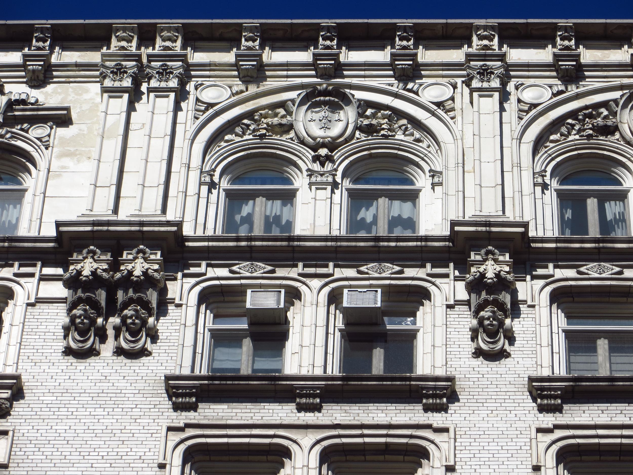 Apartment building (detail)