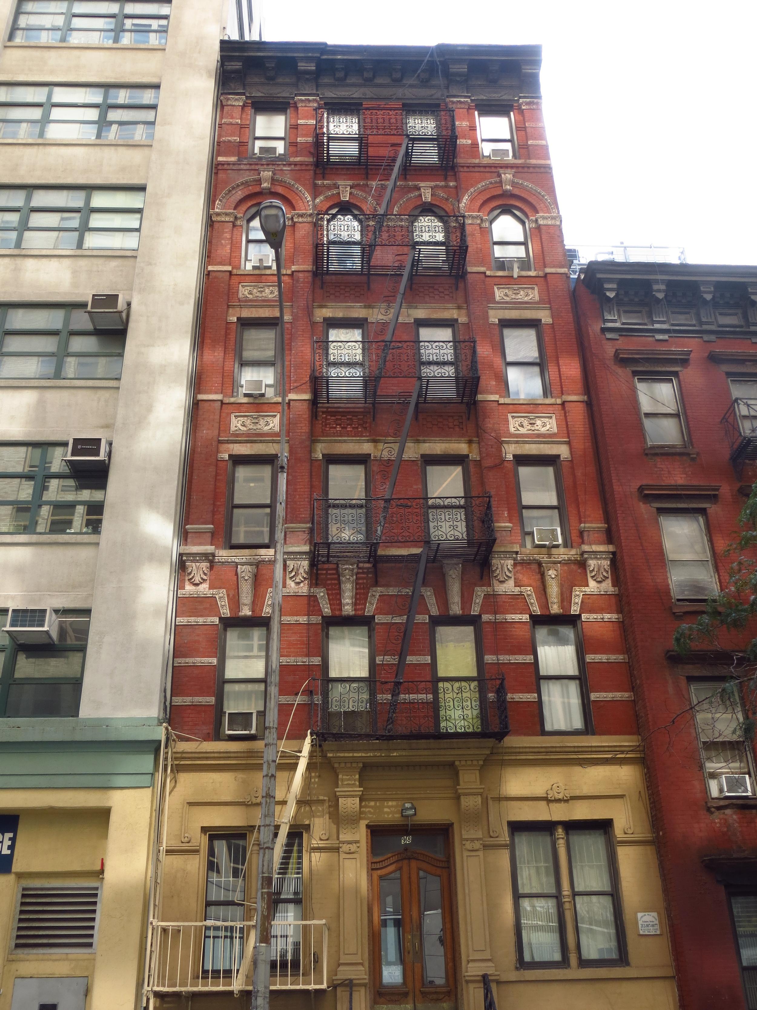 Old tenement building