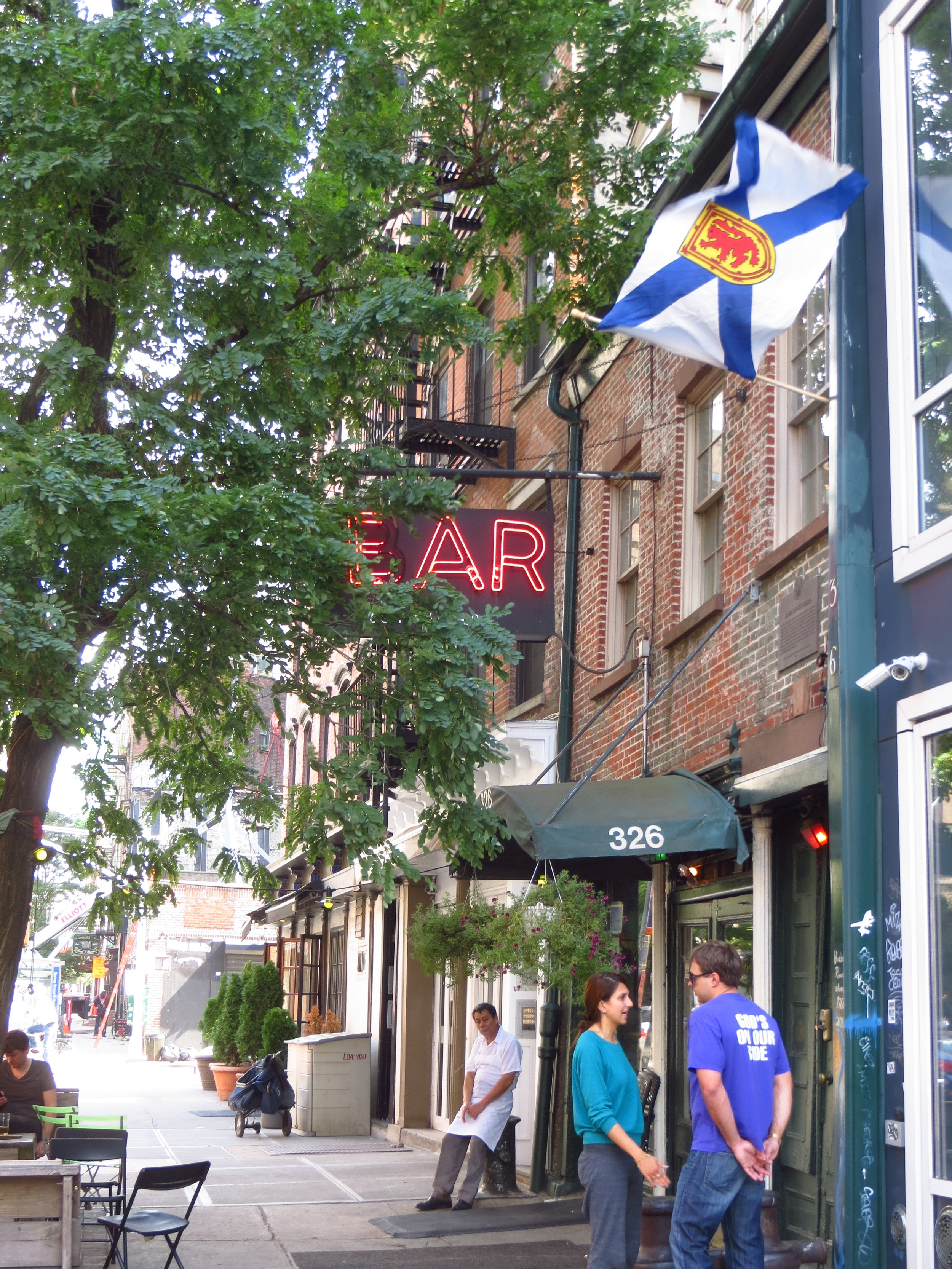 """Ear Inn (b.1817 - another """"oldest bar in NY"""" contender)"""