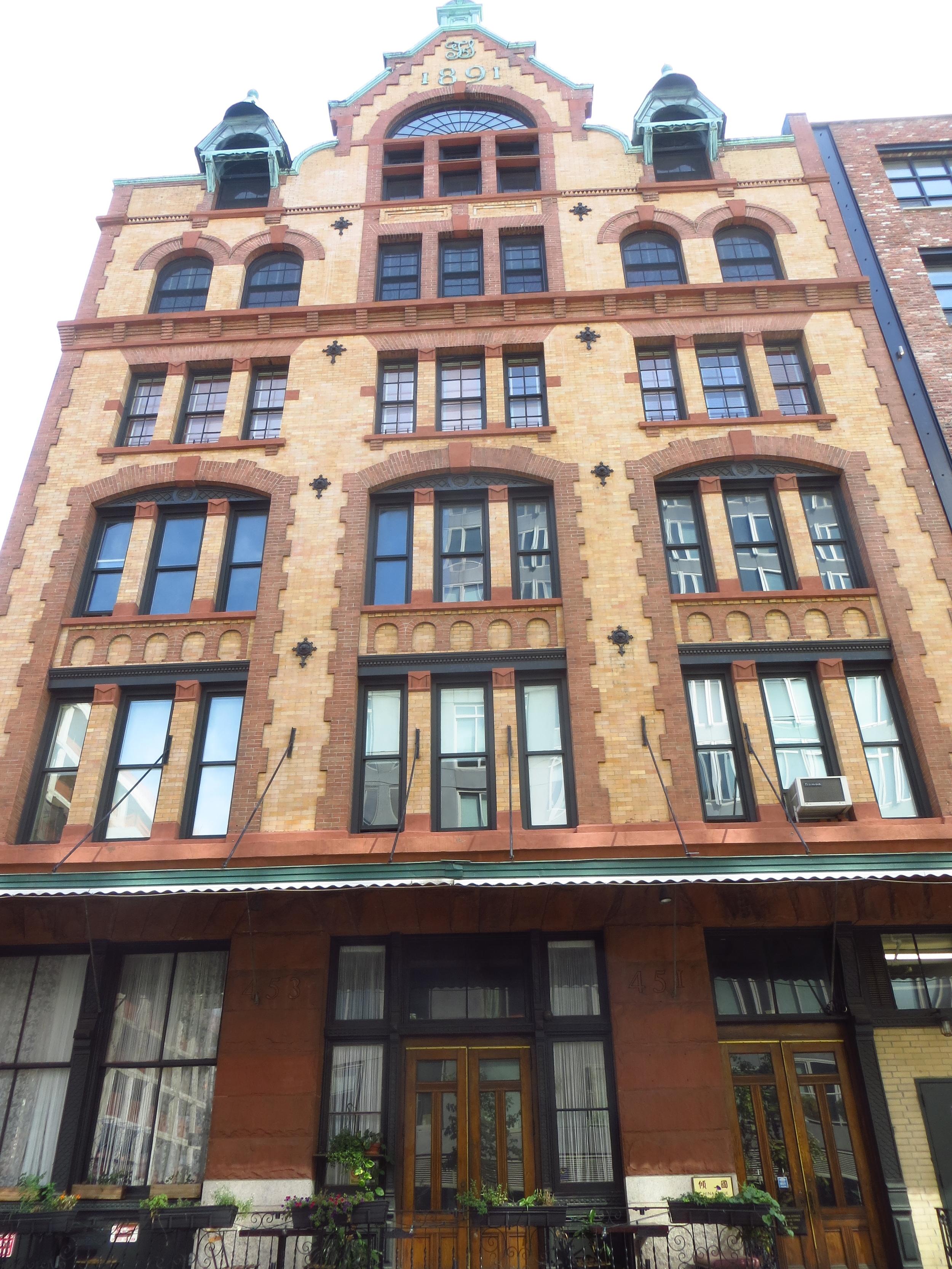 Cool building on Desbrosses St.