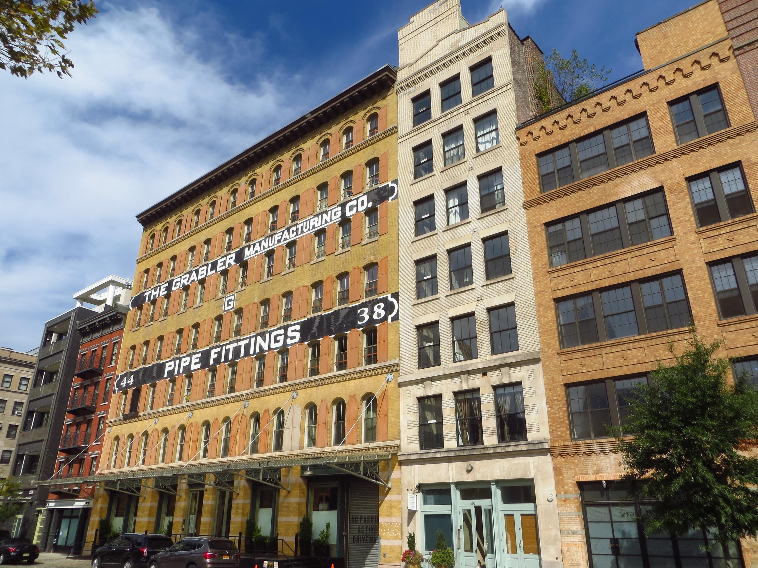 Laight St. buildings