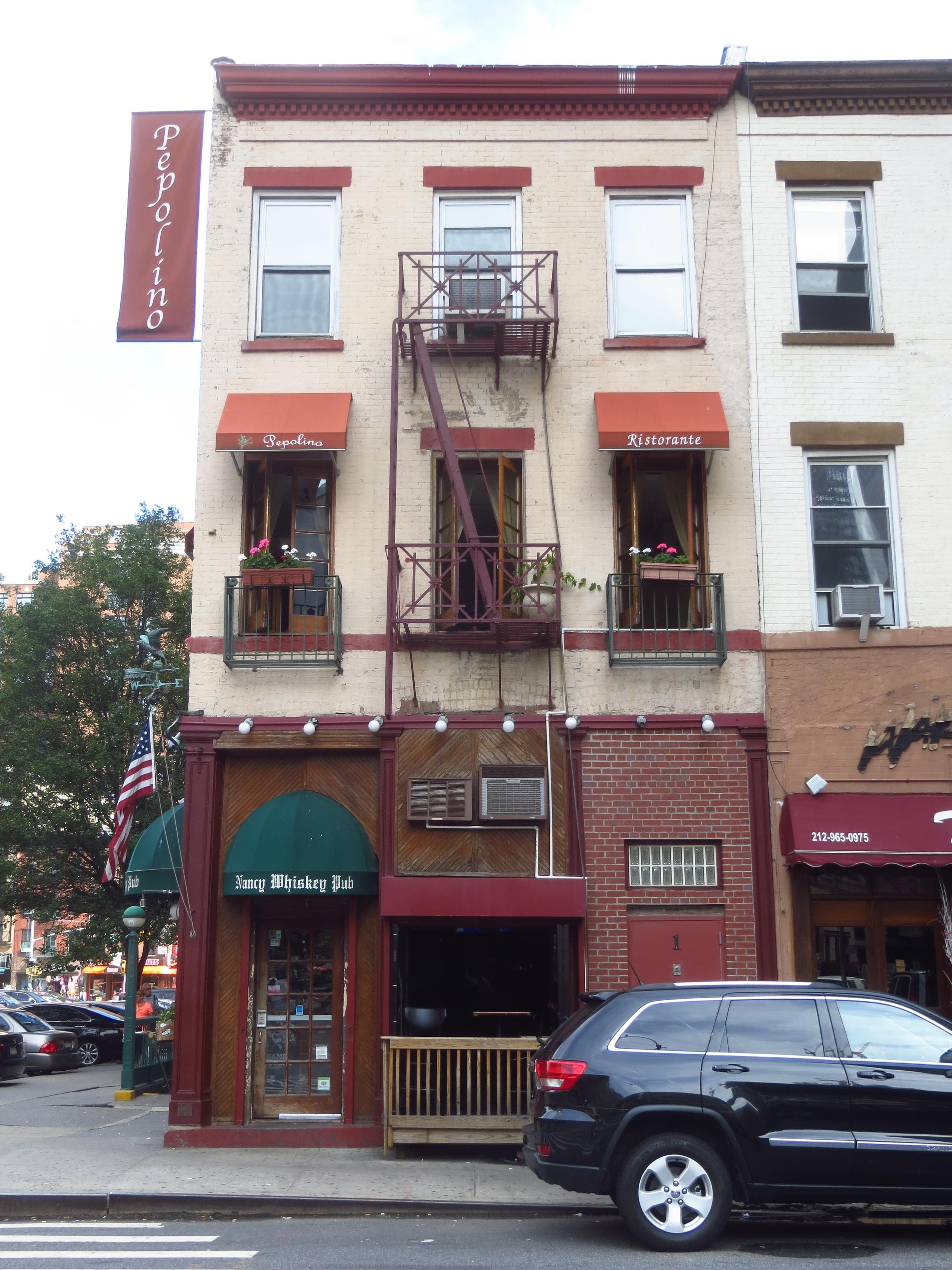 Irish Bar and Italian Restaurant (NYC in a nutshell)