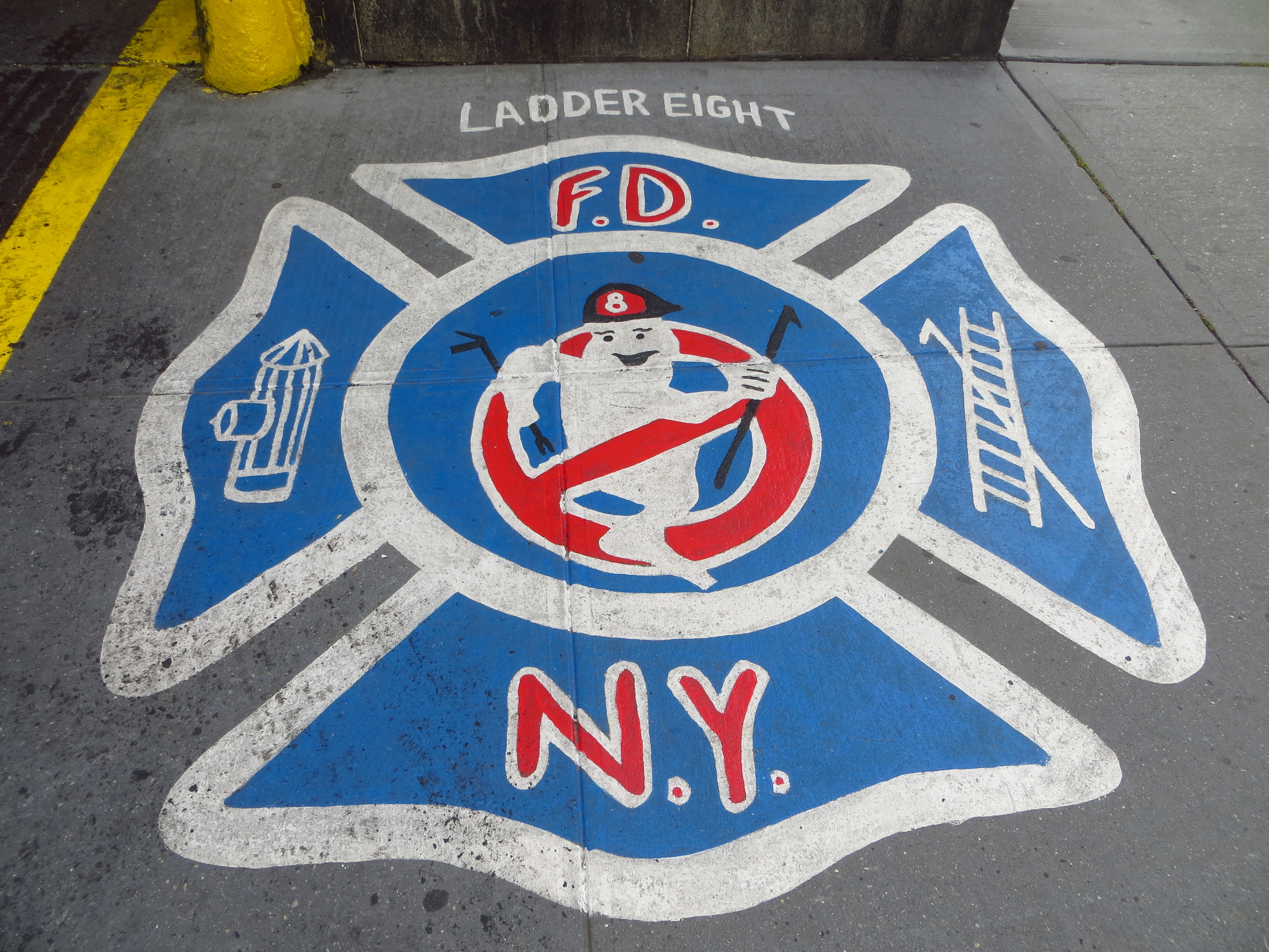 No ghosts who are also firemen