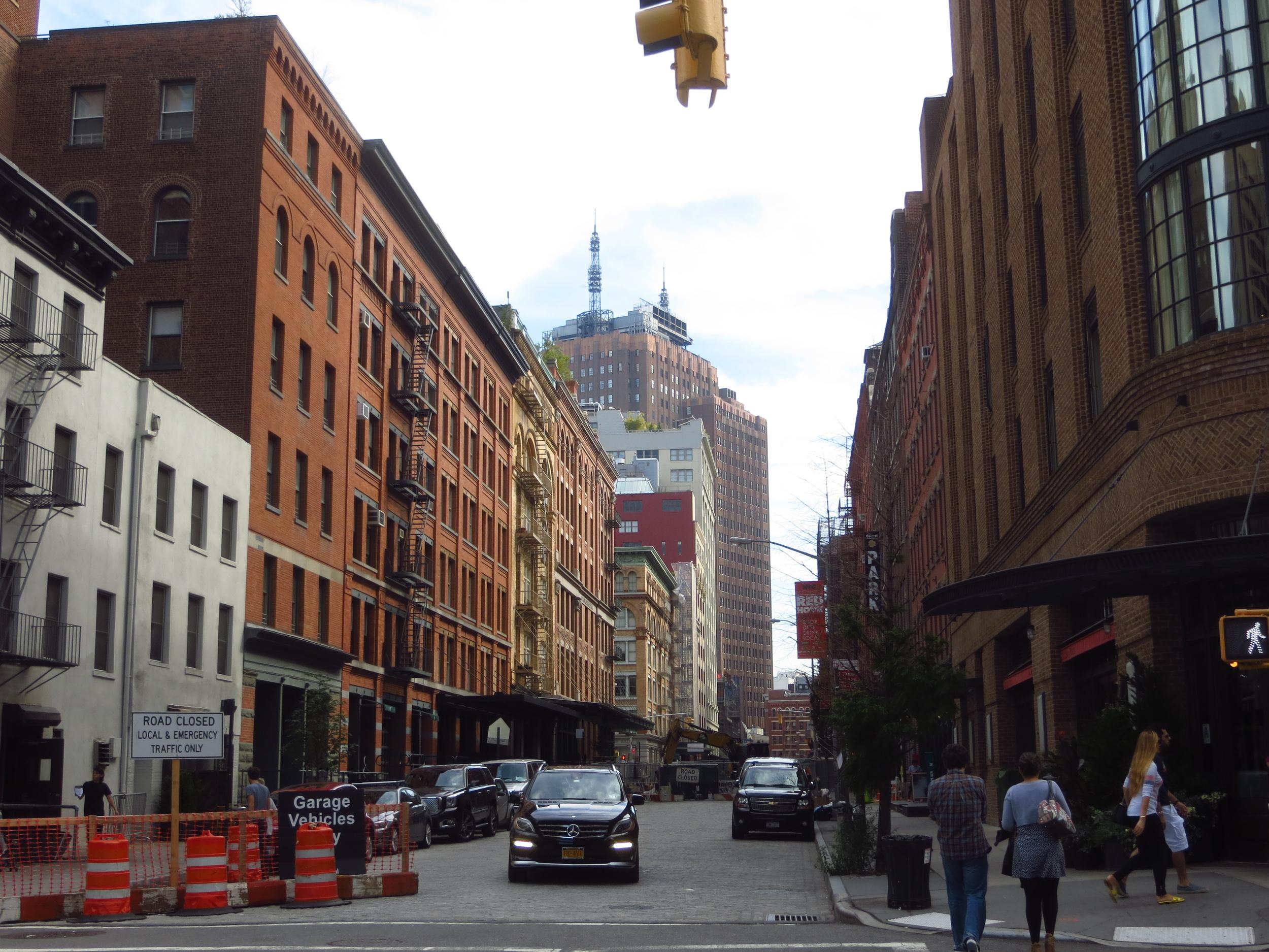 N. Moore St. buildings
