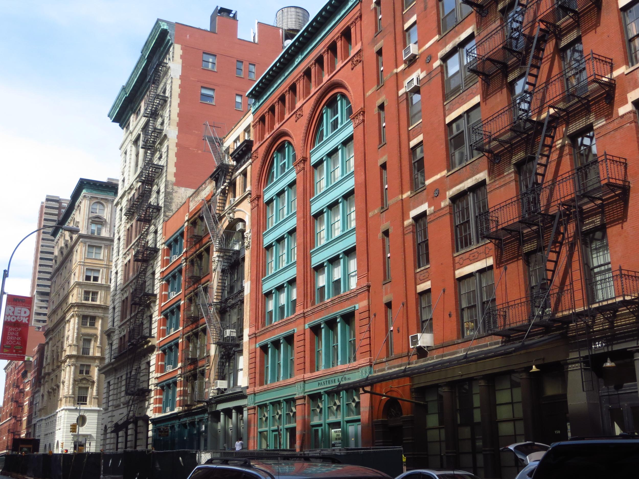 Franklin St. buildings