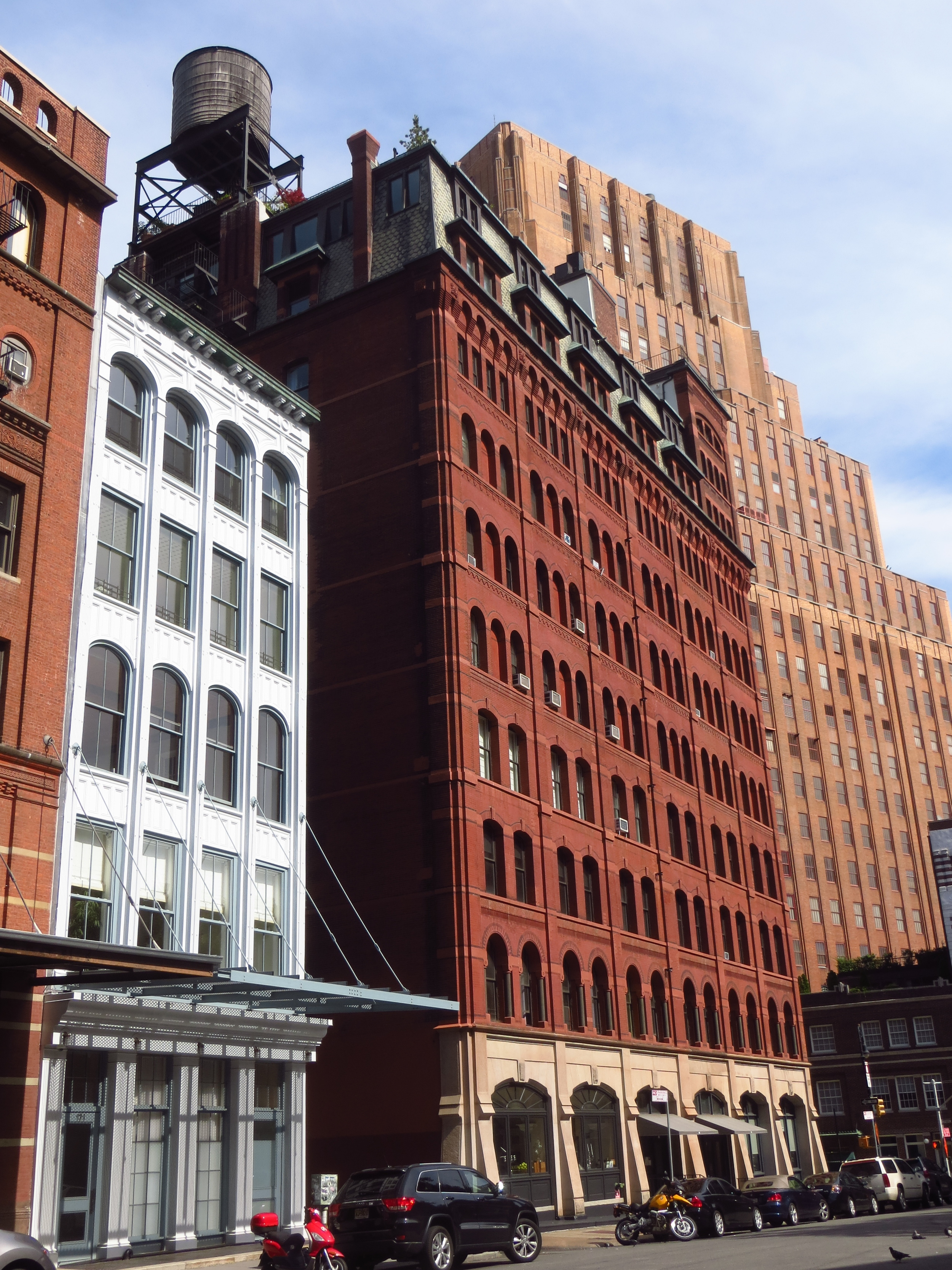 Cool buildings on Duane St.