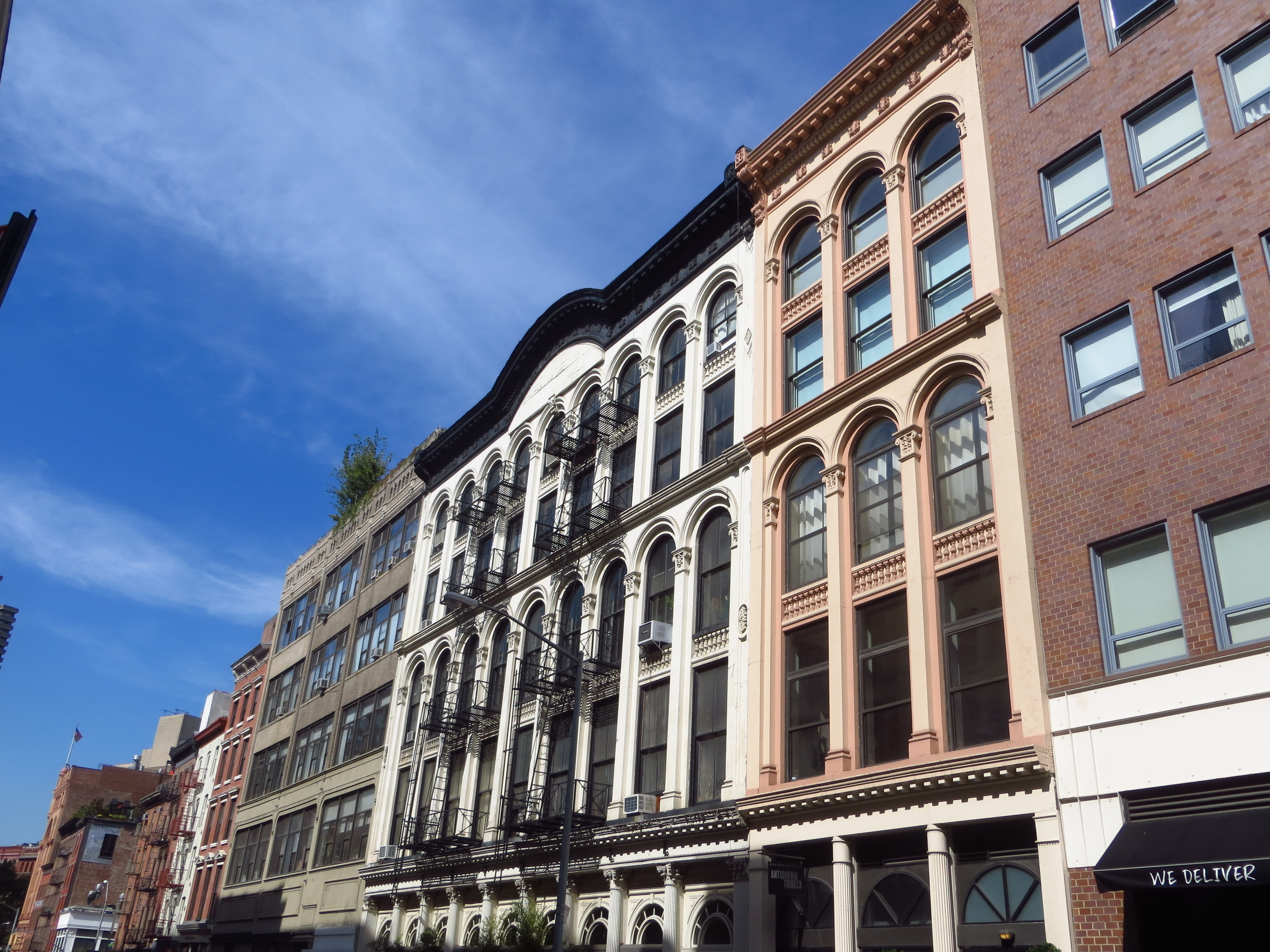 More cool buildings on Duane St.