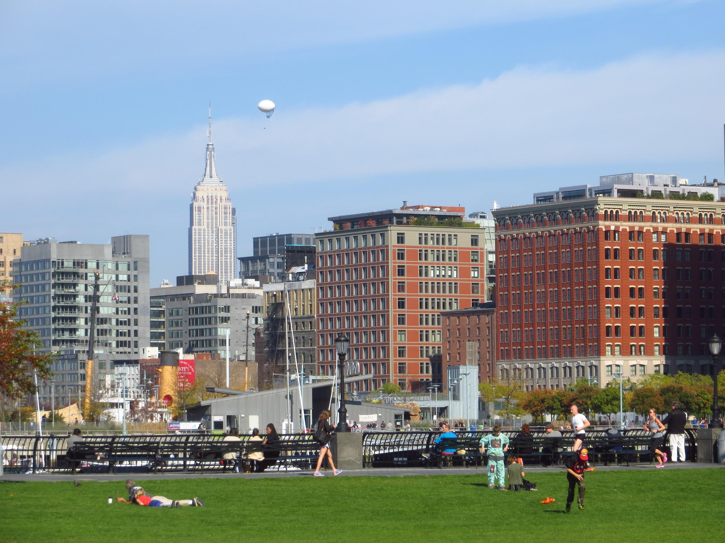 Nice day in Rockefeller Park