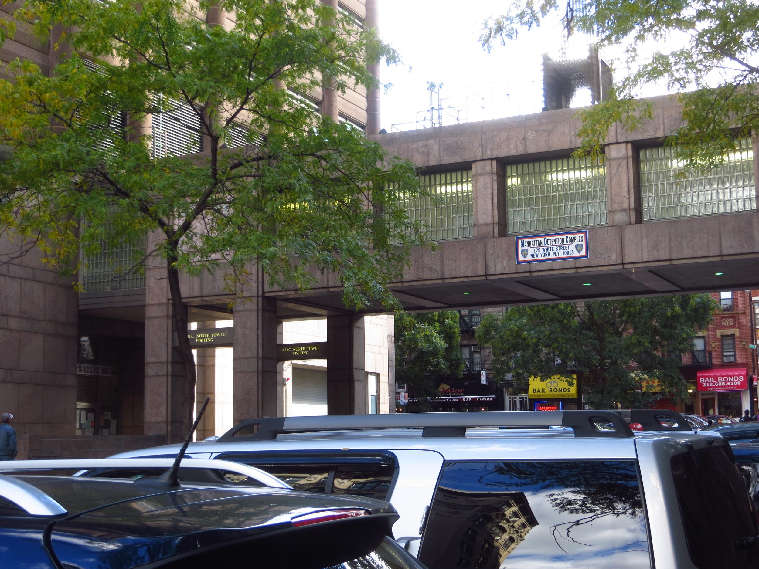"""Bridge of Sighs"" (Manhattan Detention Center)"