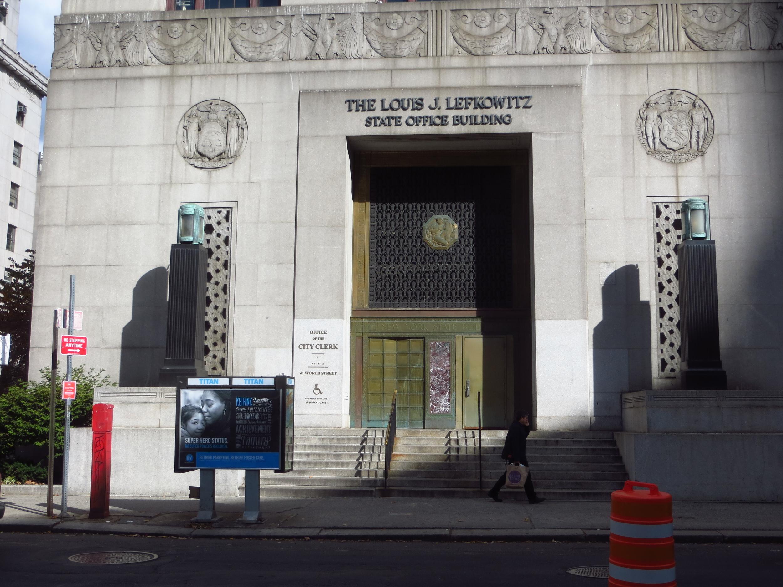 City Clerk's Office (I got married here)