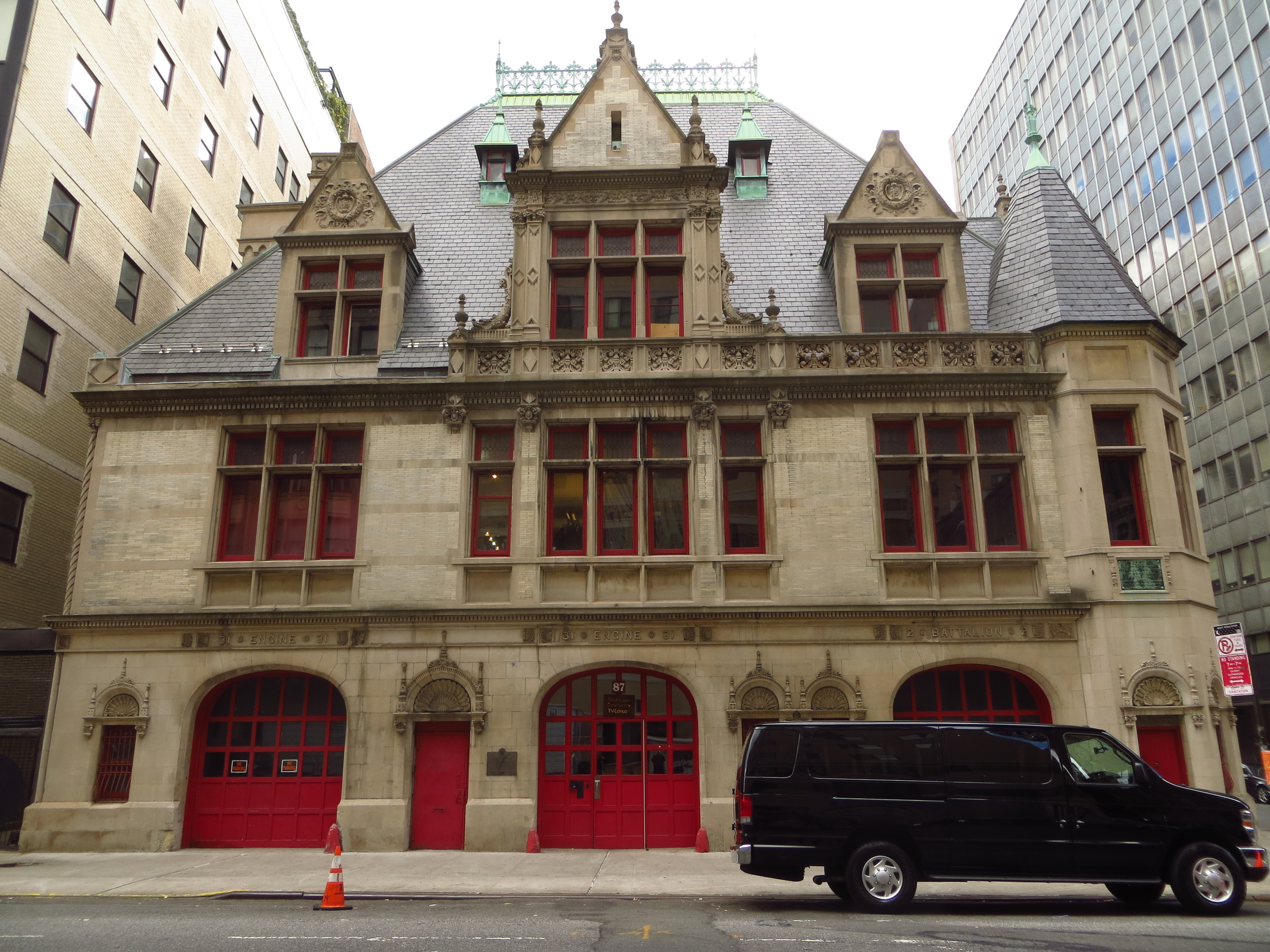 Cool old firehouse (b. 1895)