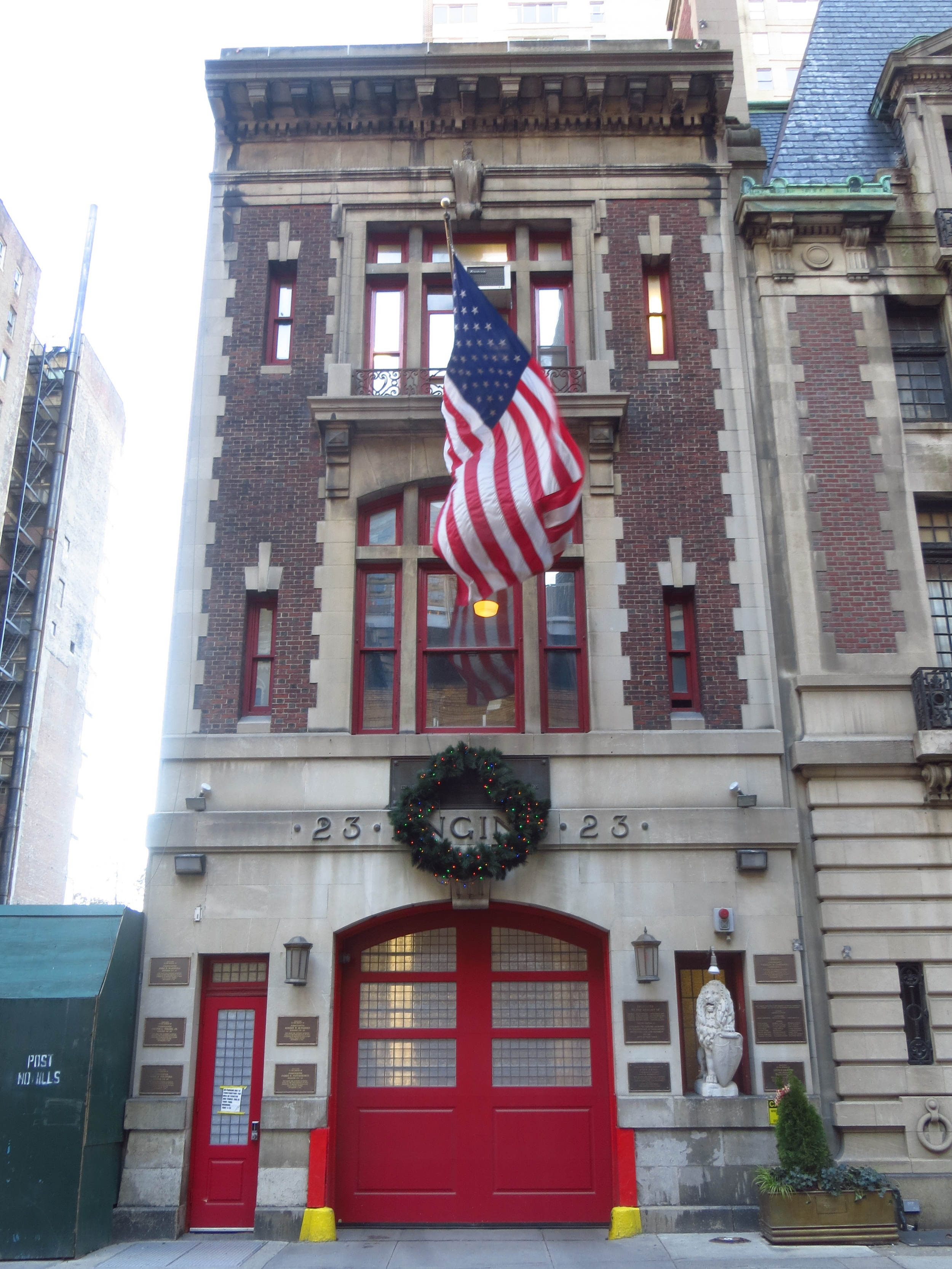 Fire Station (a lot of 9/11 plaques on this one)