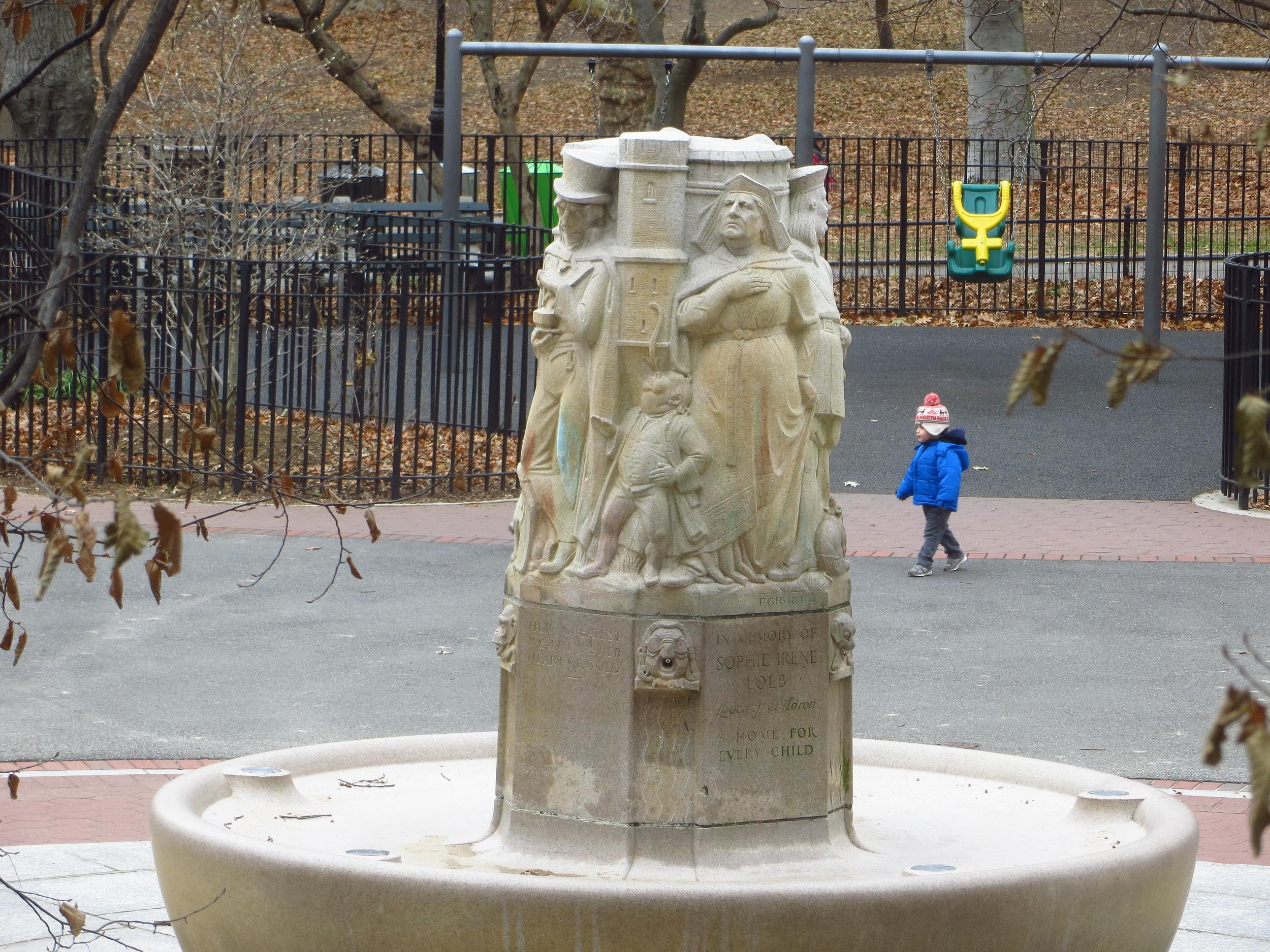 Nun fountain