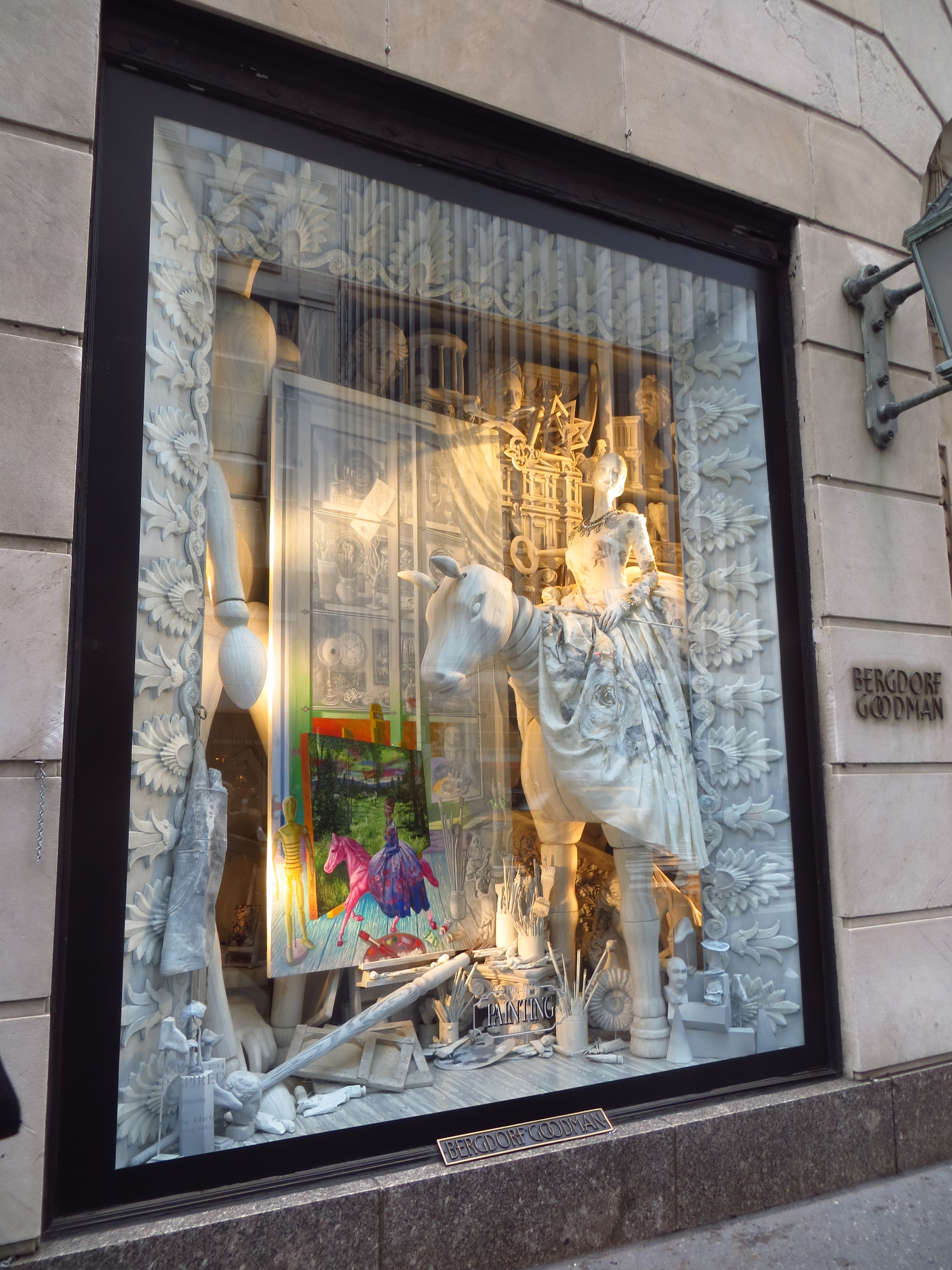 Holiday Window (Bergdorf Goodman)