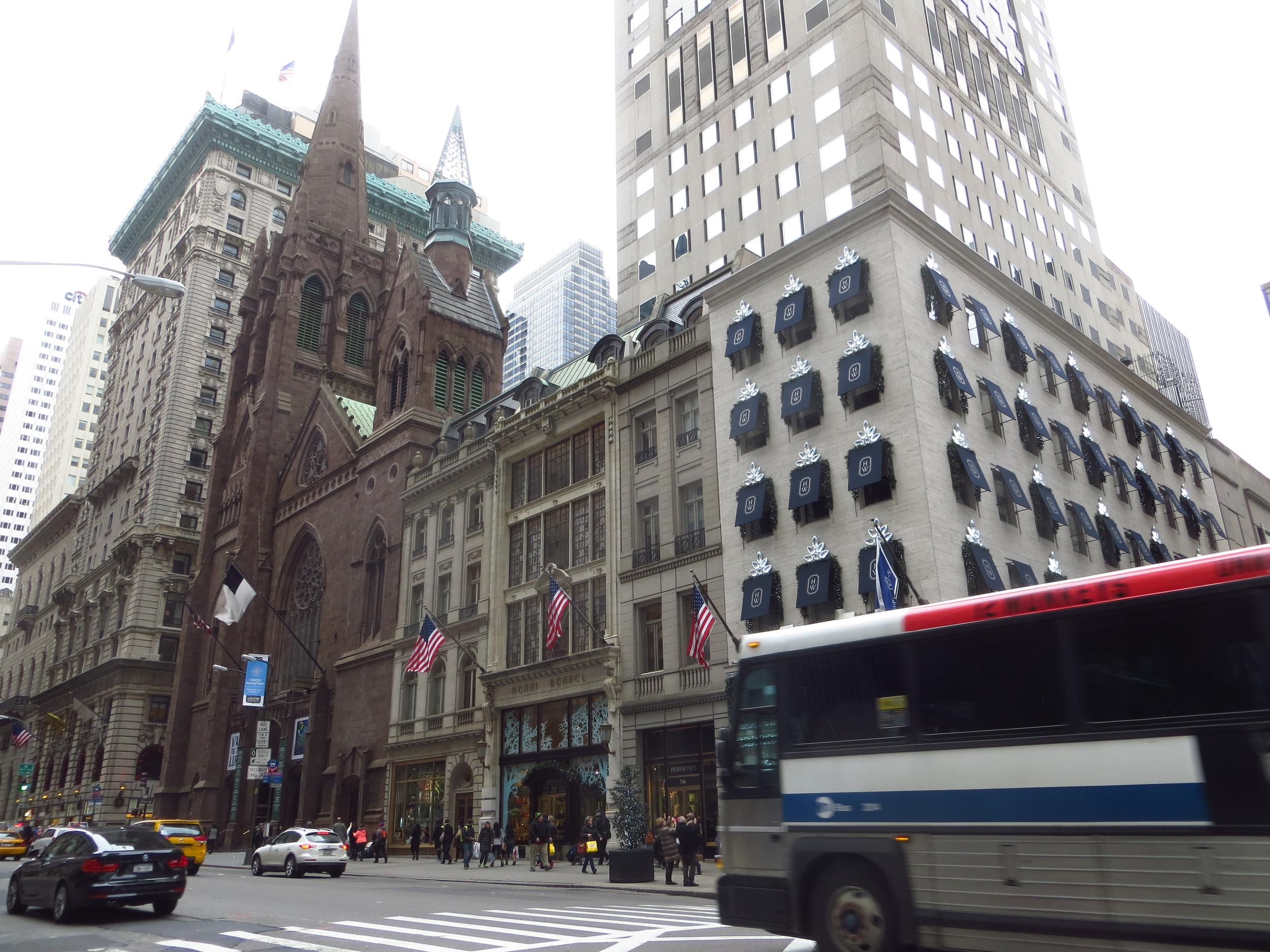 5th Avenue block