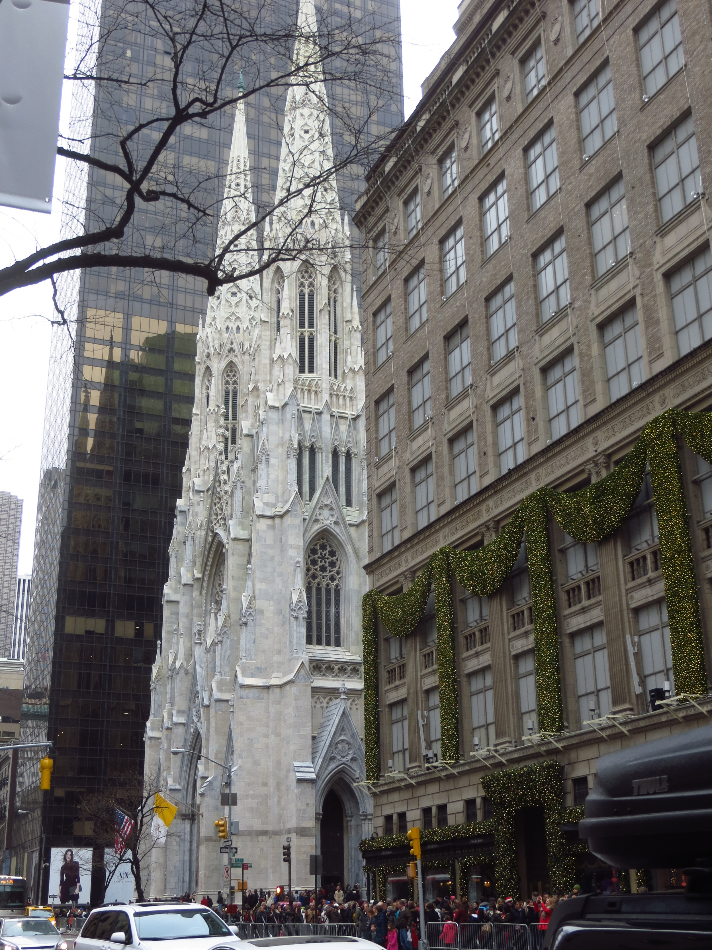 St. Patrick's Cathedral and Sak's
