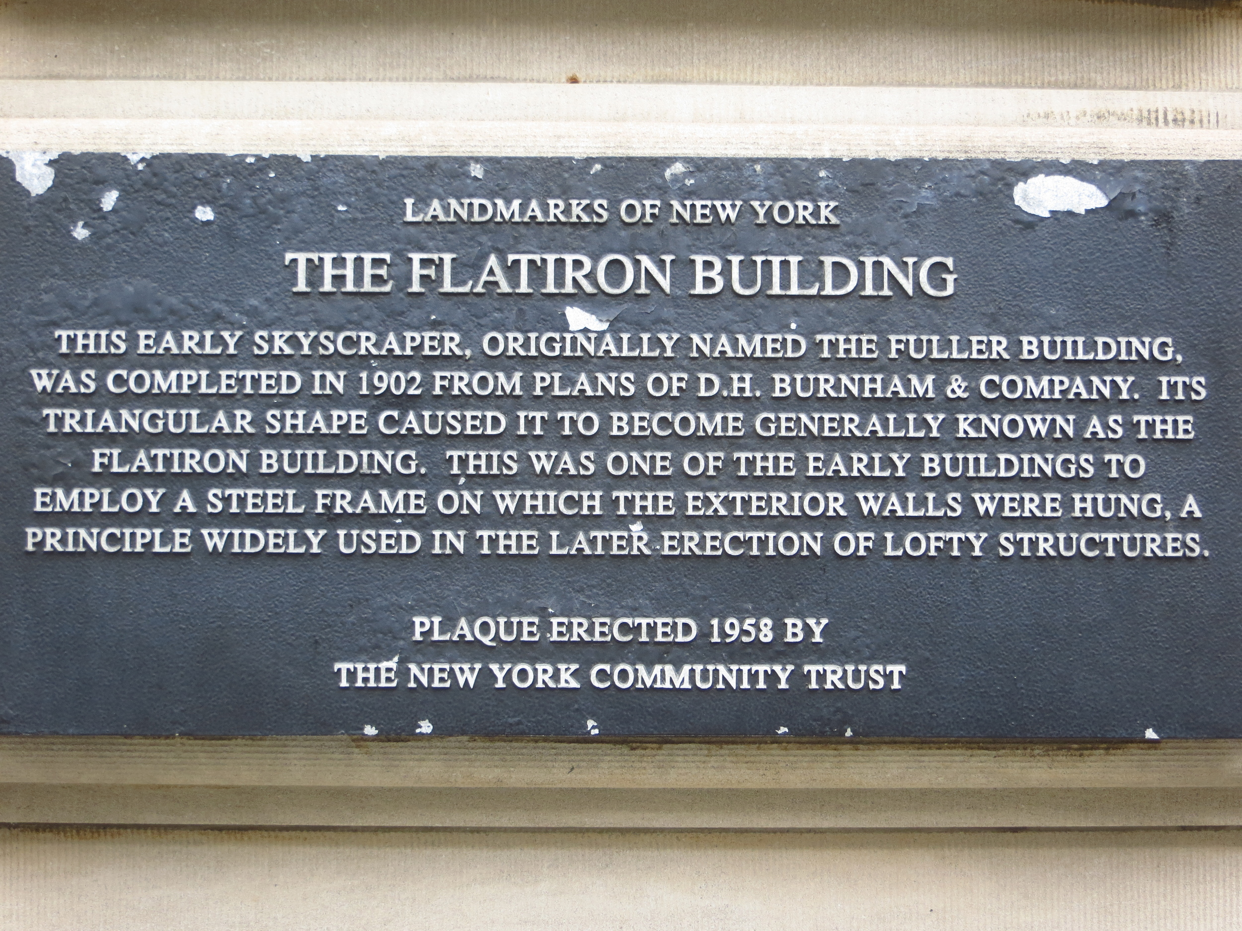 Flatiron History