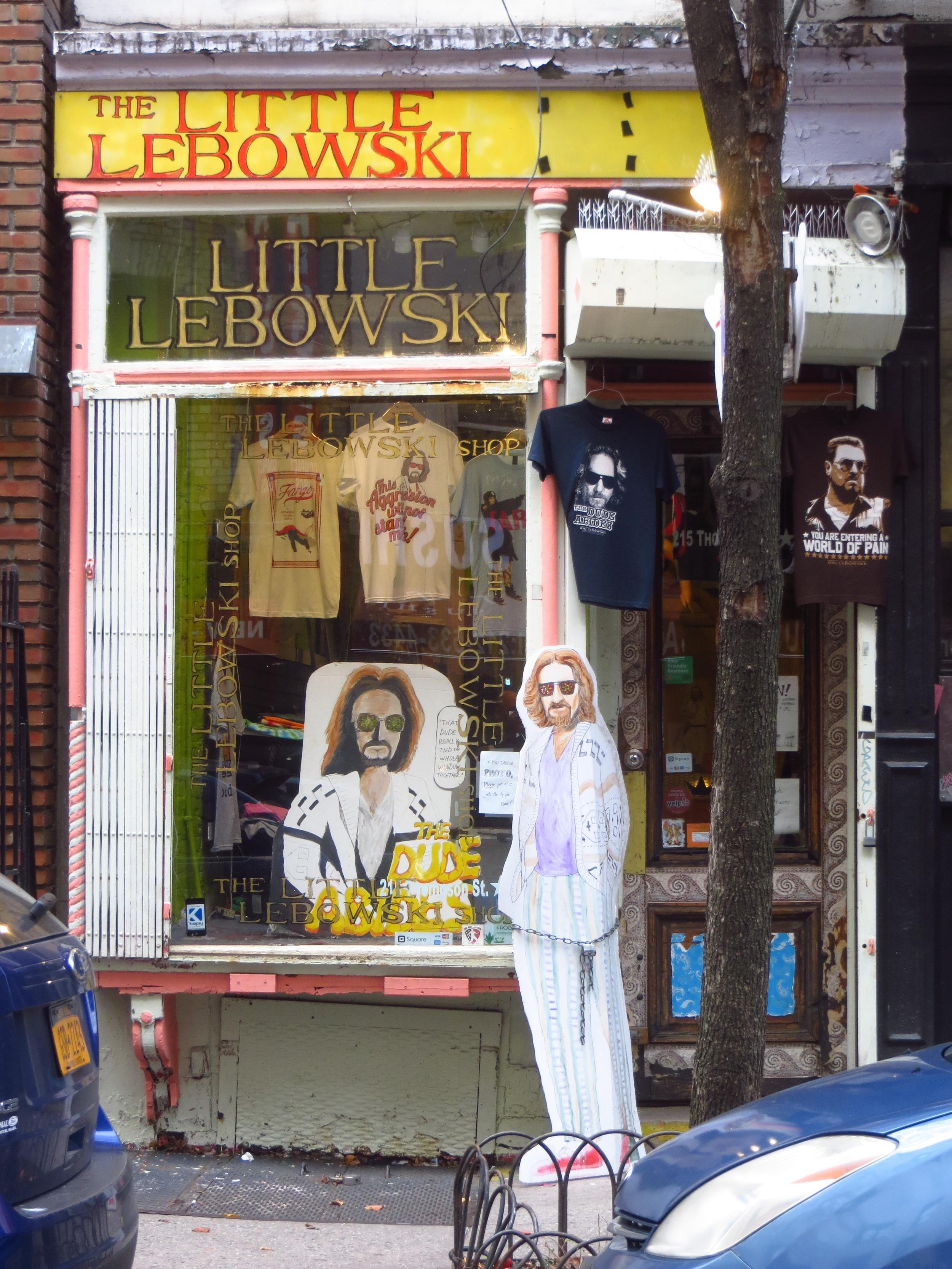Big Lebowski Store