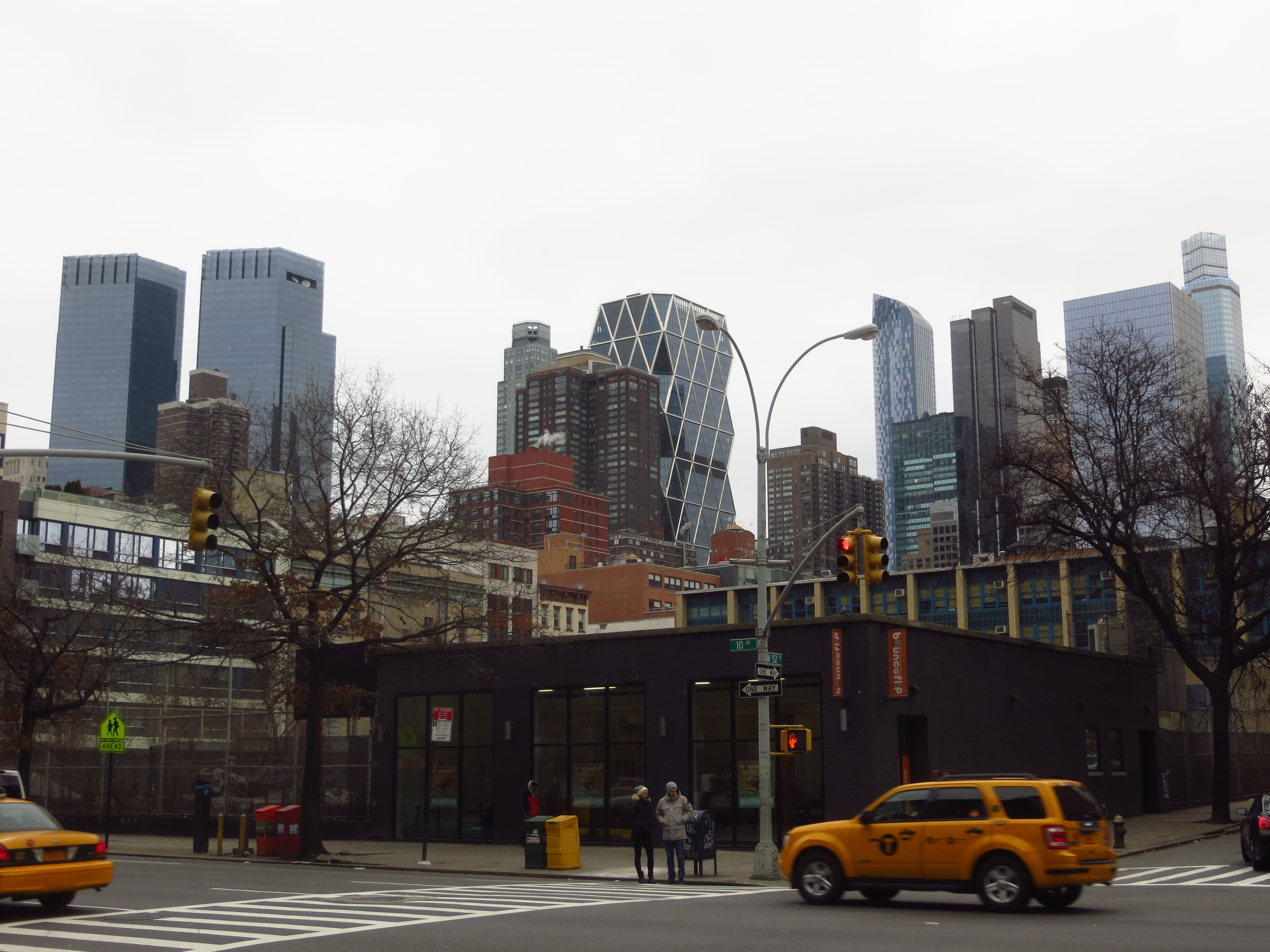 Midtown skyline from Hell's Kitchen