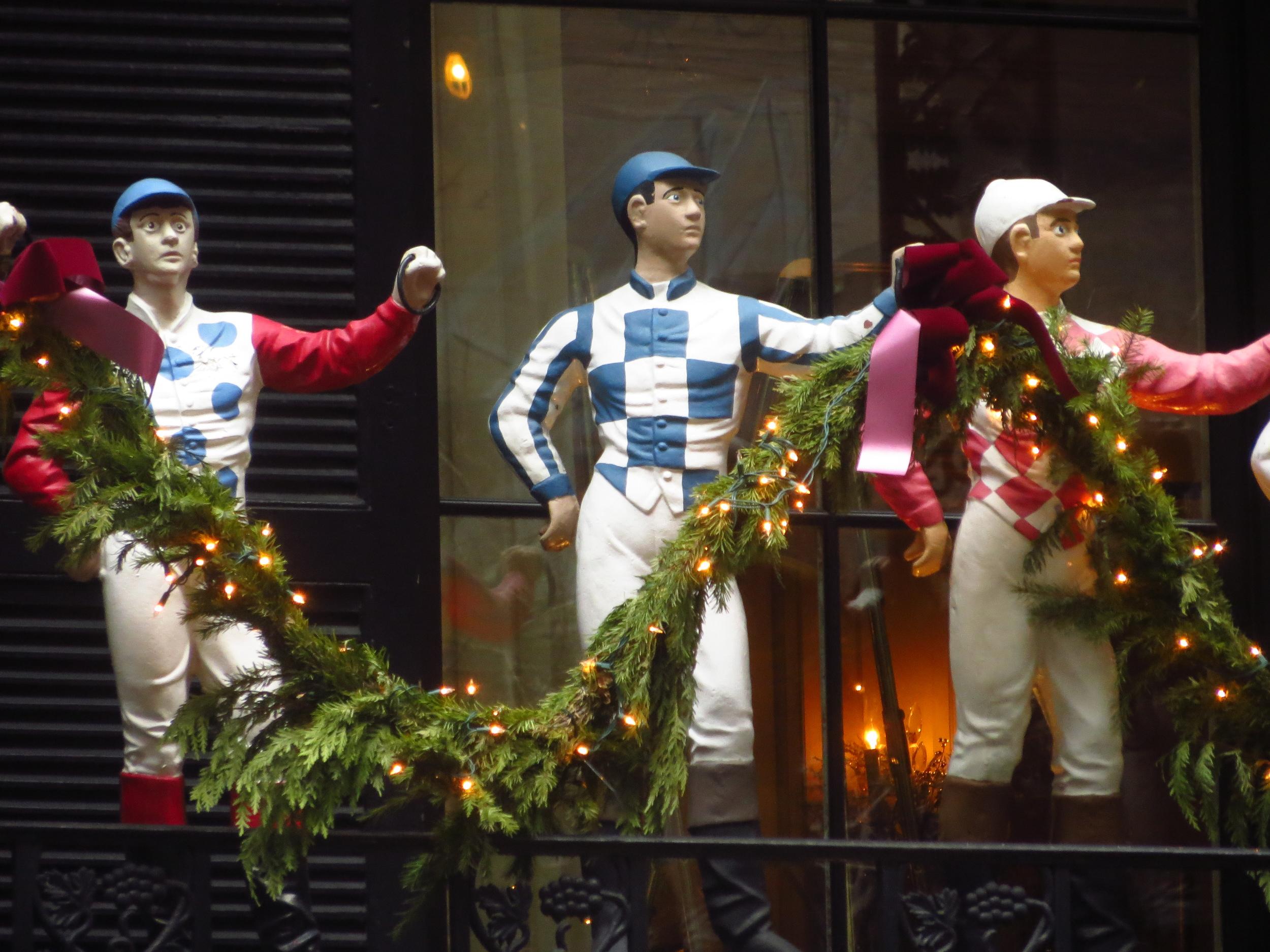 Holiday jockeys