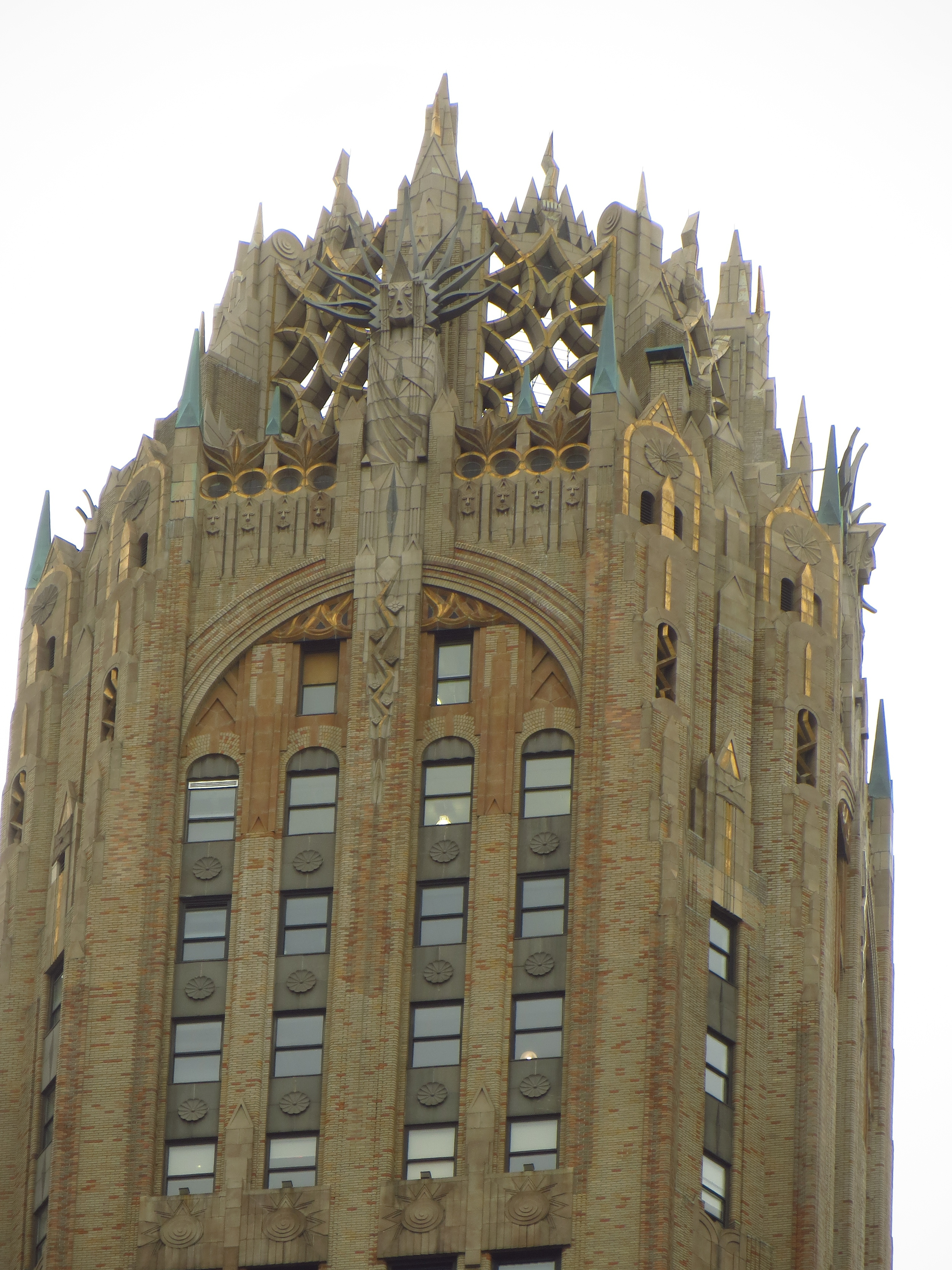 Top of General Electric Building