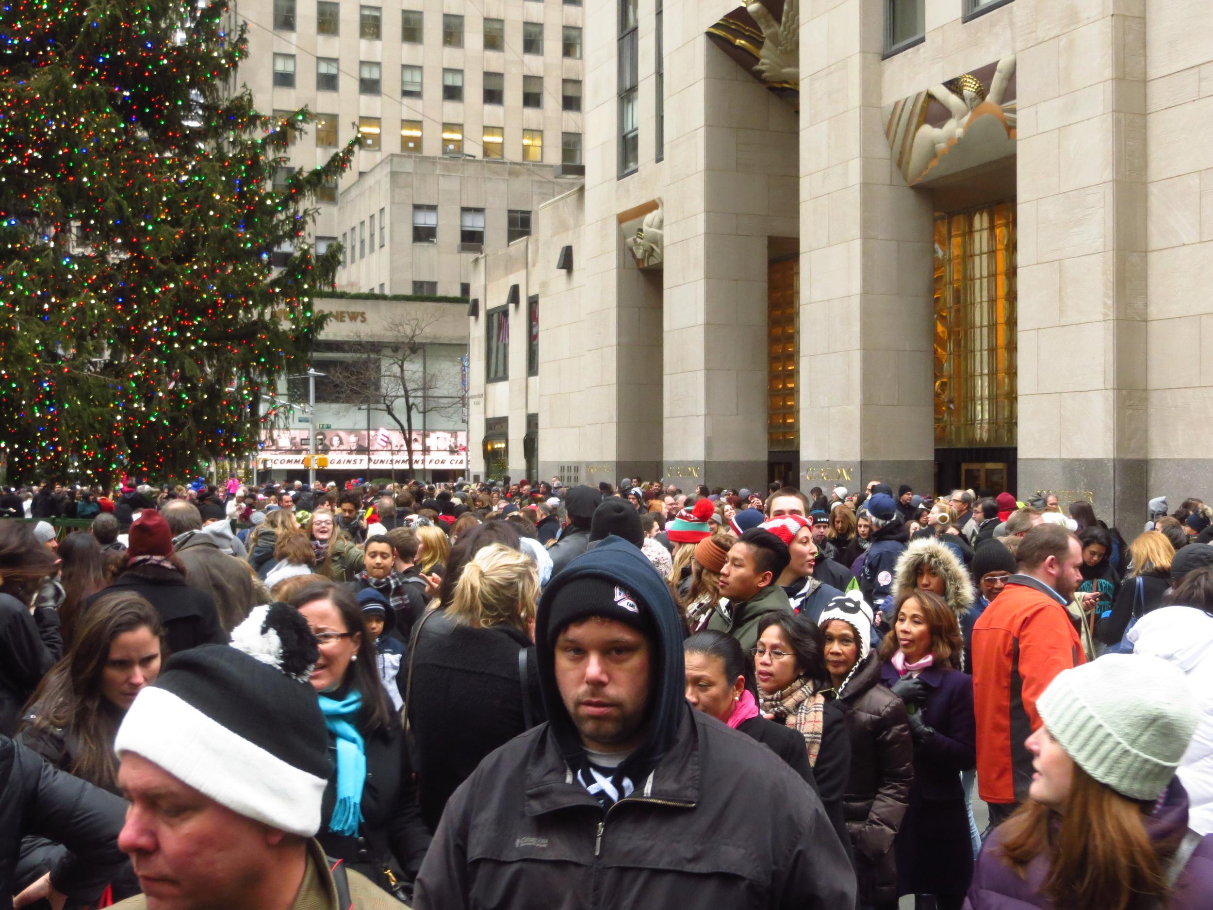 Rockefeller Christmas Tree madness