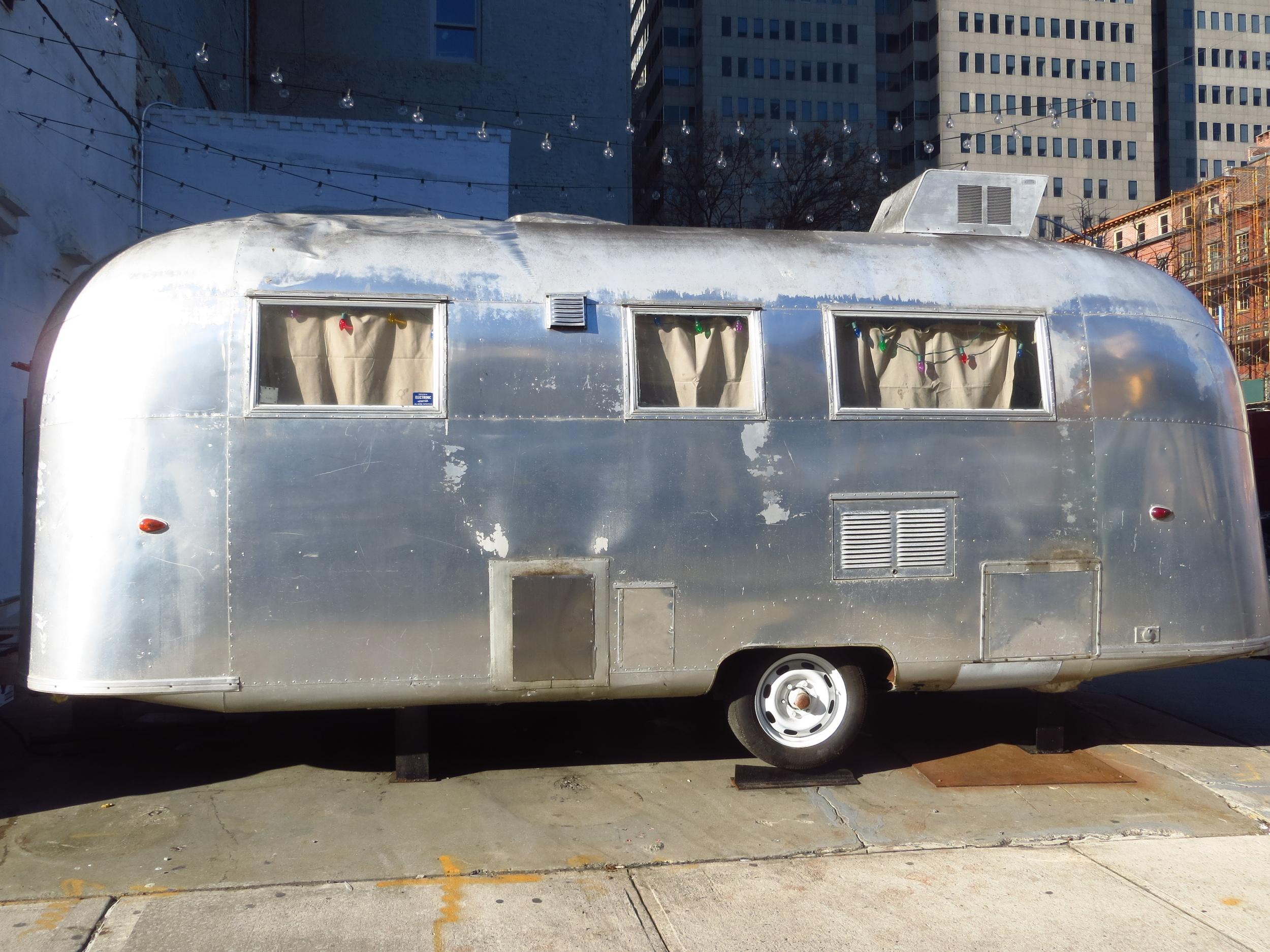 Airstream trailer