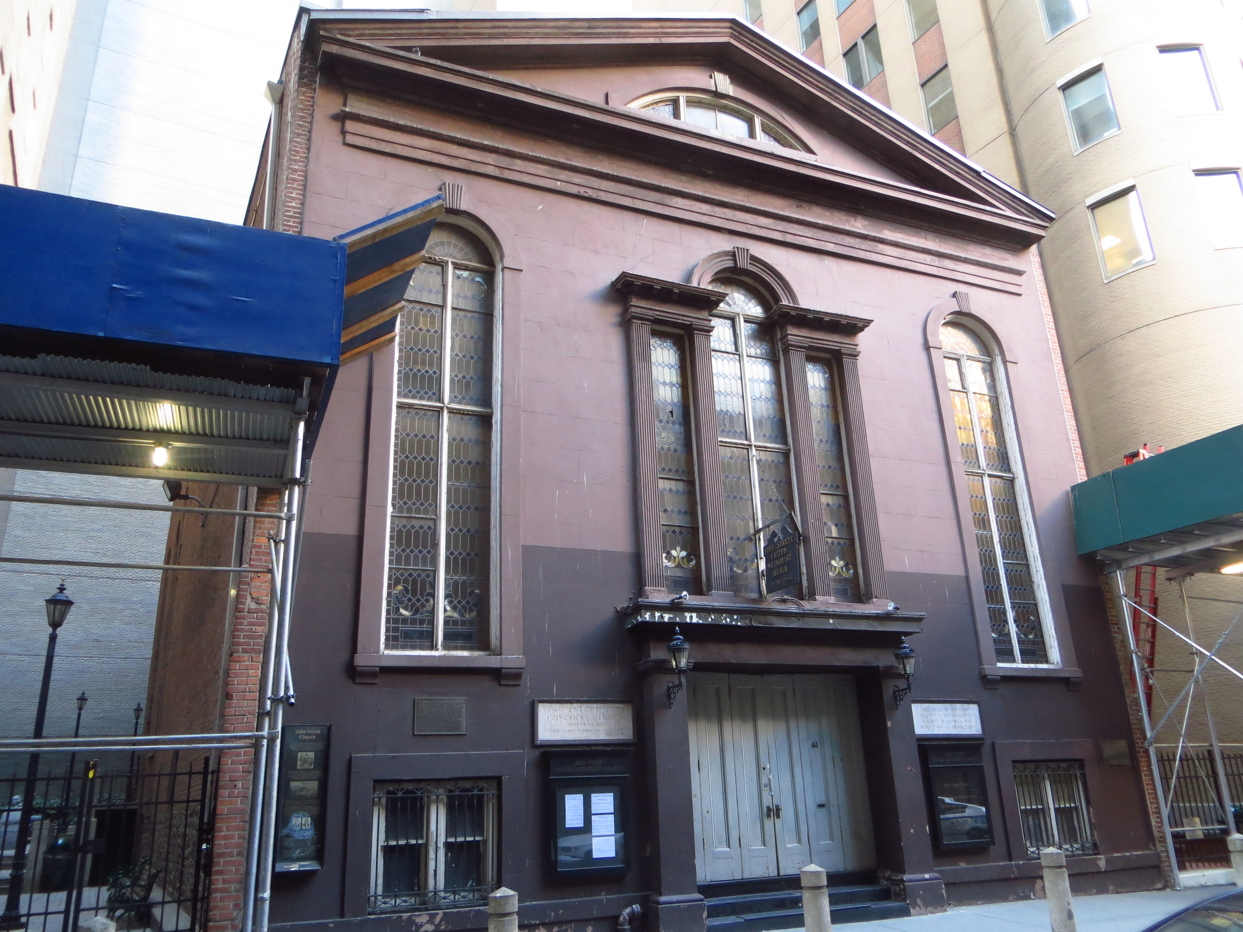 John St. Methodist Church (oldest Methodist Assembly in the US)