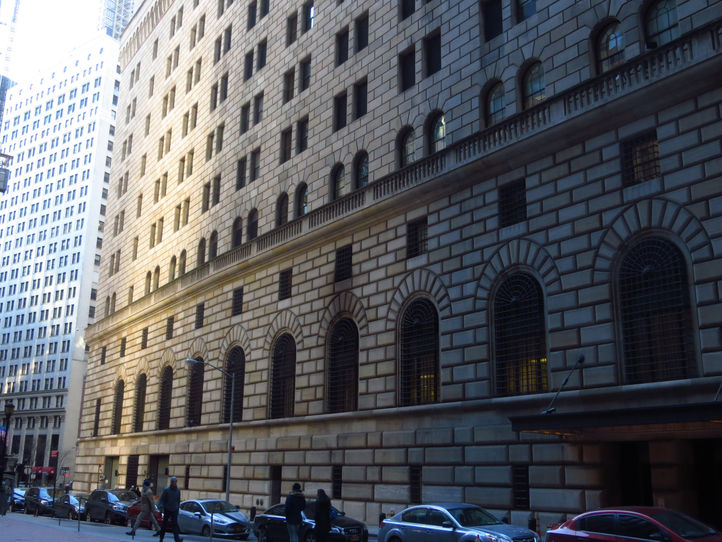 Federal Reserve Bank of New York (maybe the largest gold repository in the world)