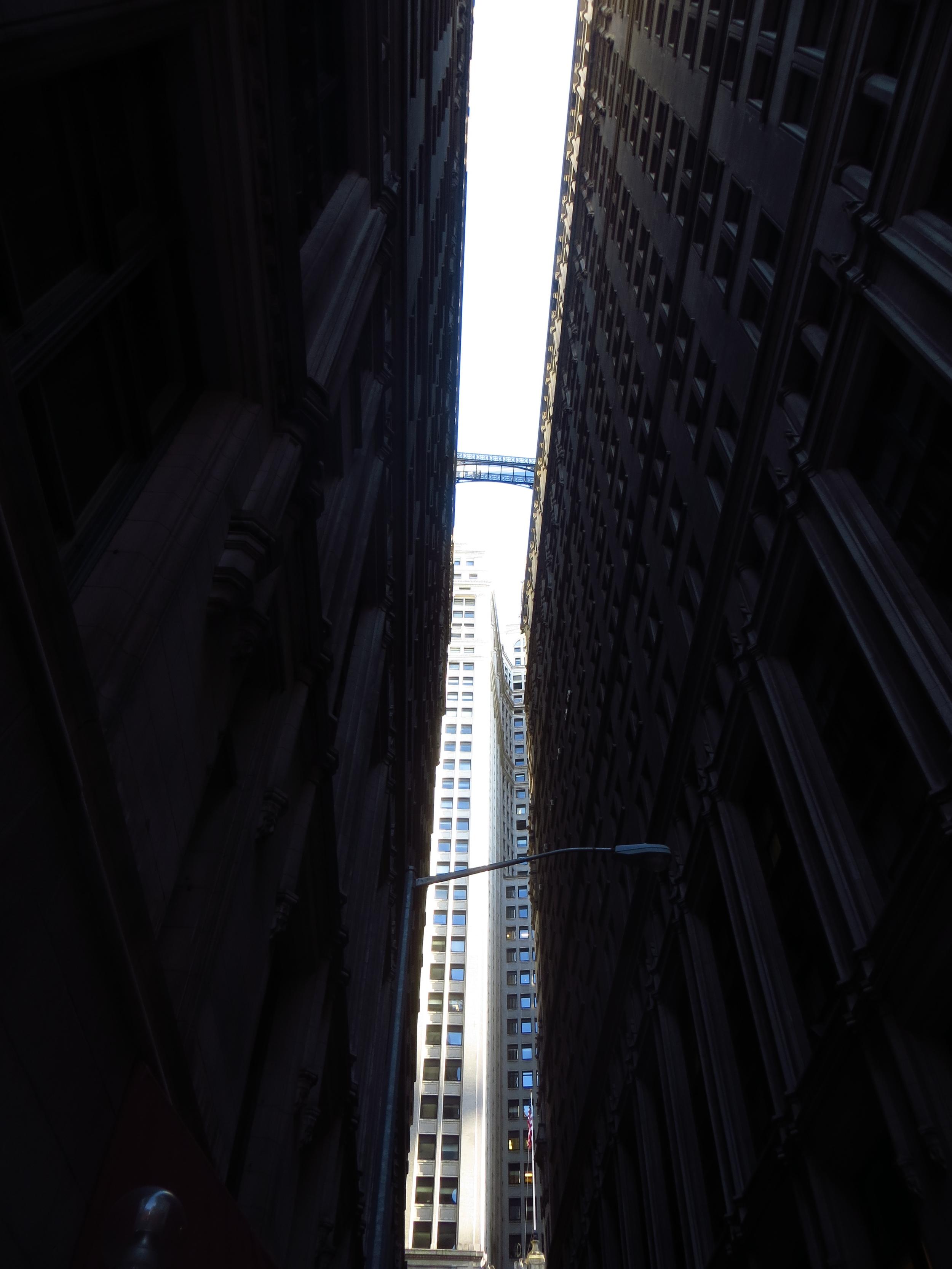 Dark and narrow