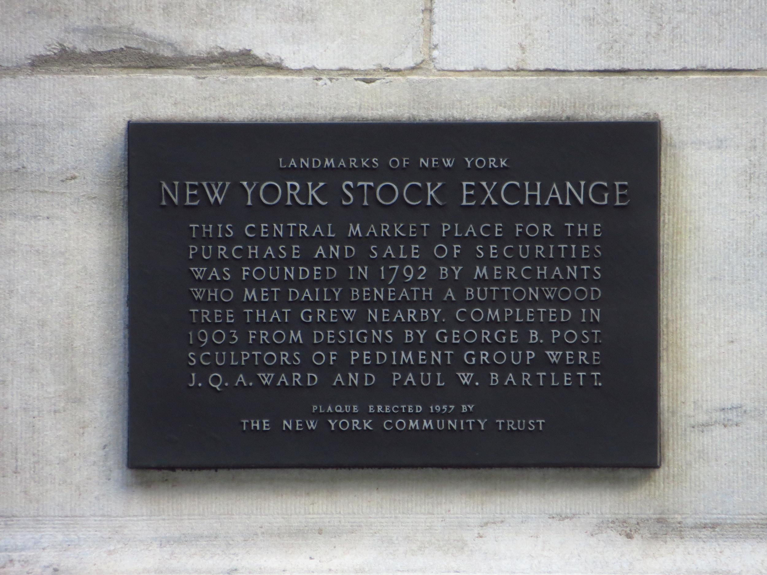 NYSE History