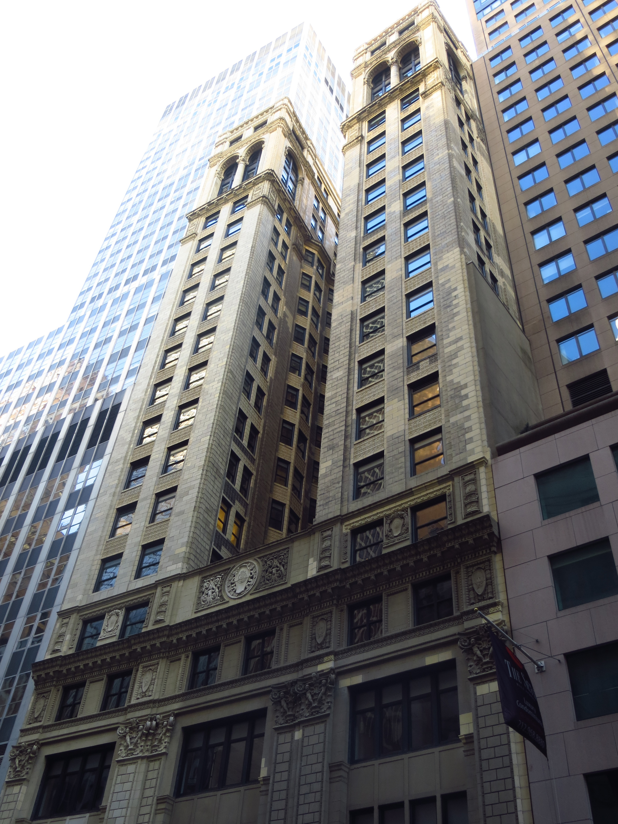 Financial District building
