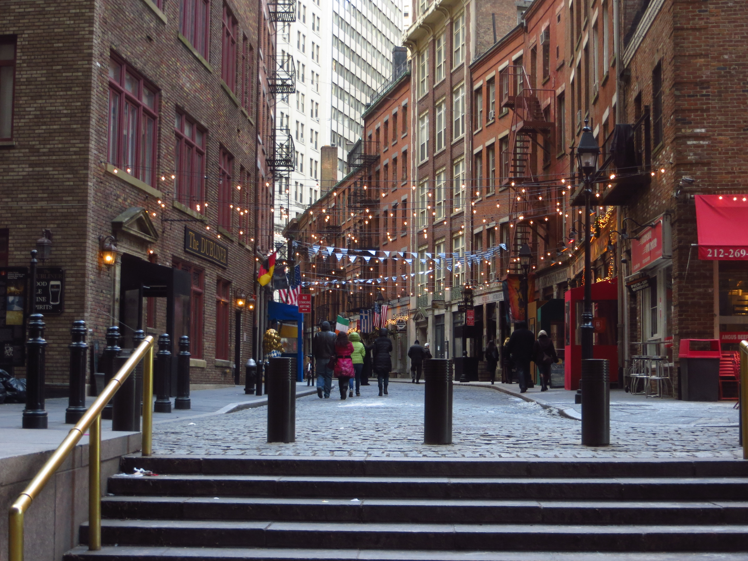 View down Stone St.