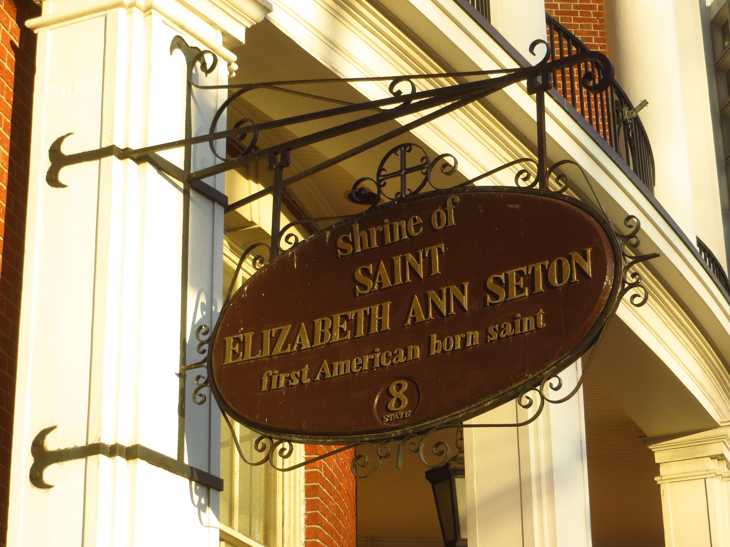 First American-born Saint