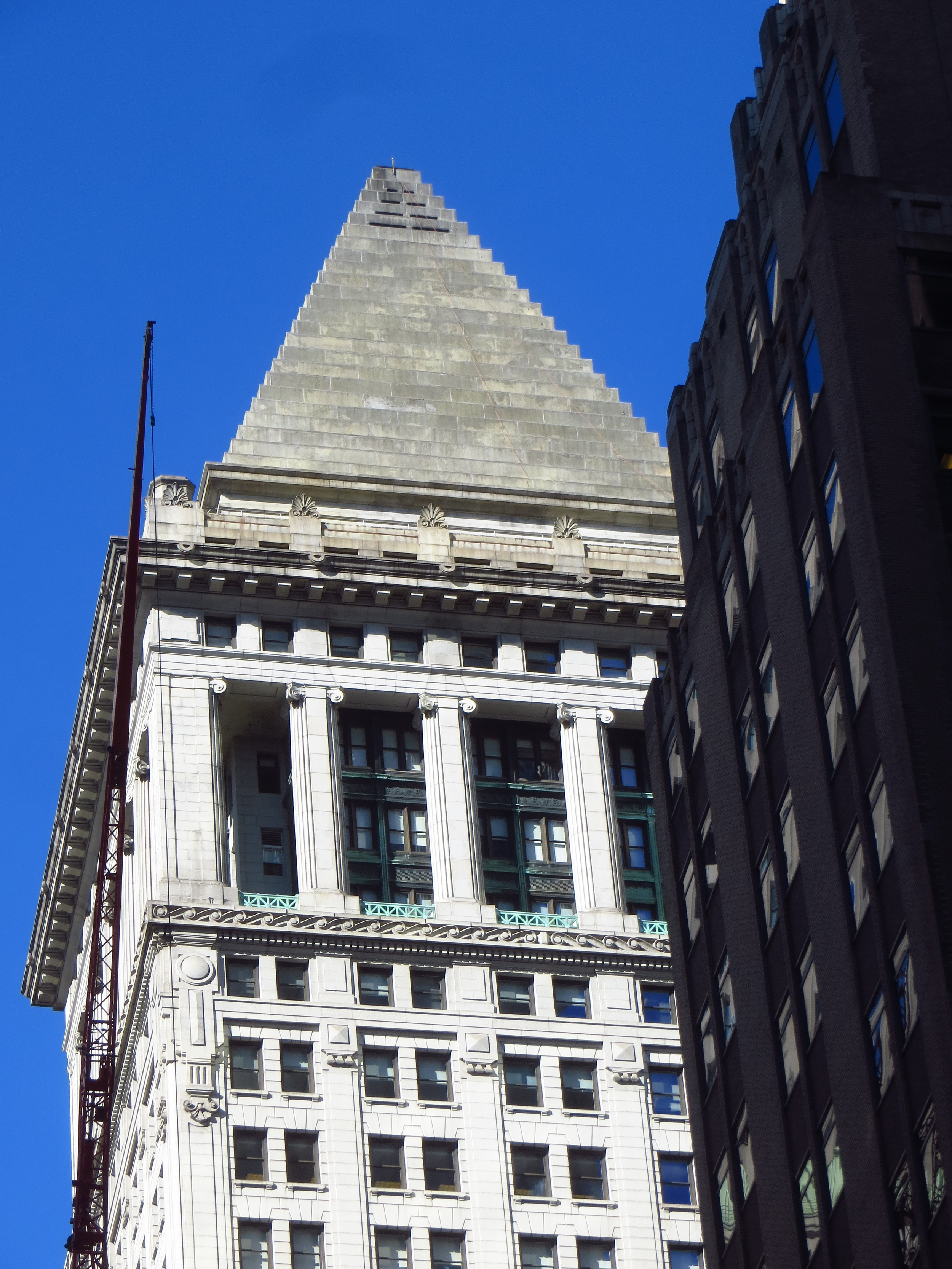 "14 Wall St - ""The Mausoleum of Halicarnassus on top of St Mark's Campanile"""