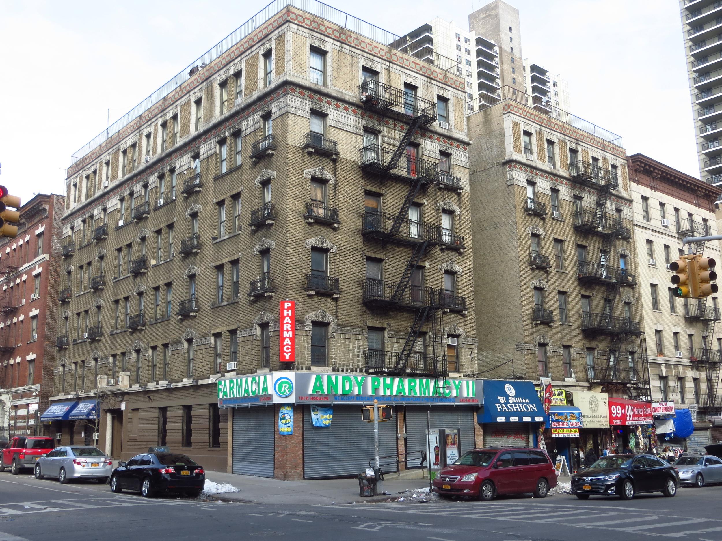 More apartment buildings