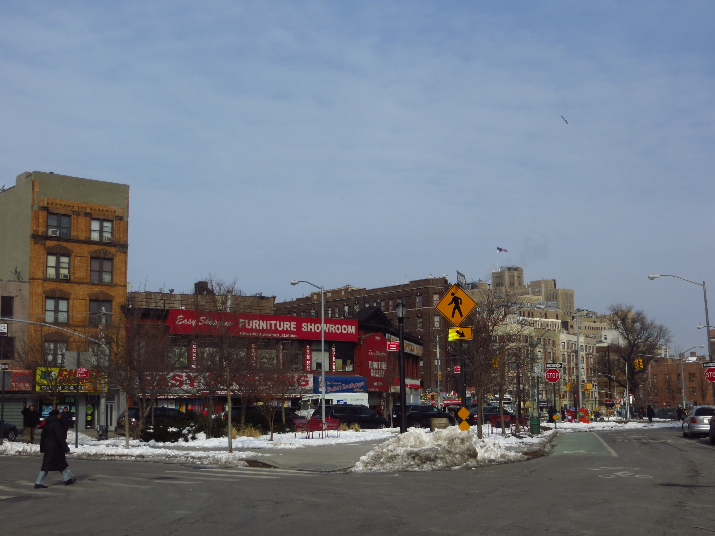 View up St. Nicholas Avenue