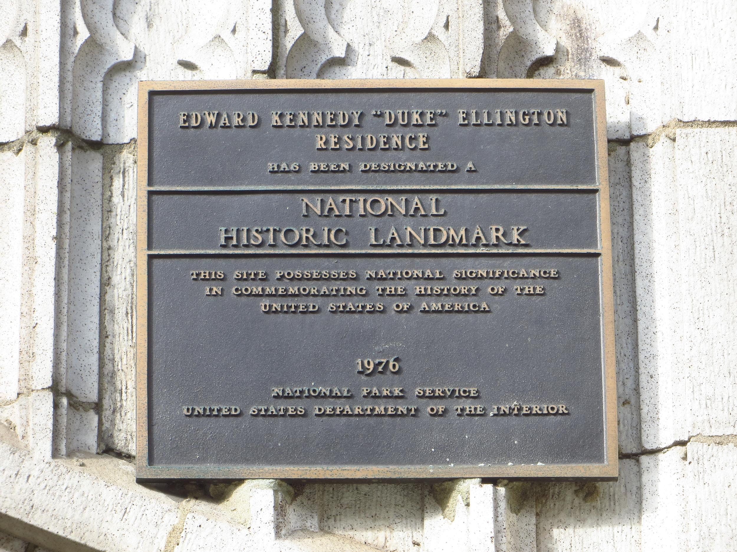 Duke Ellington's House